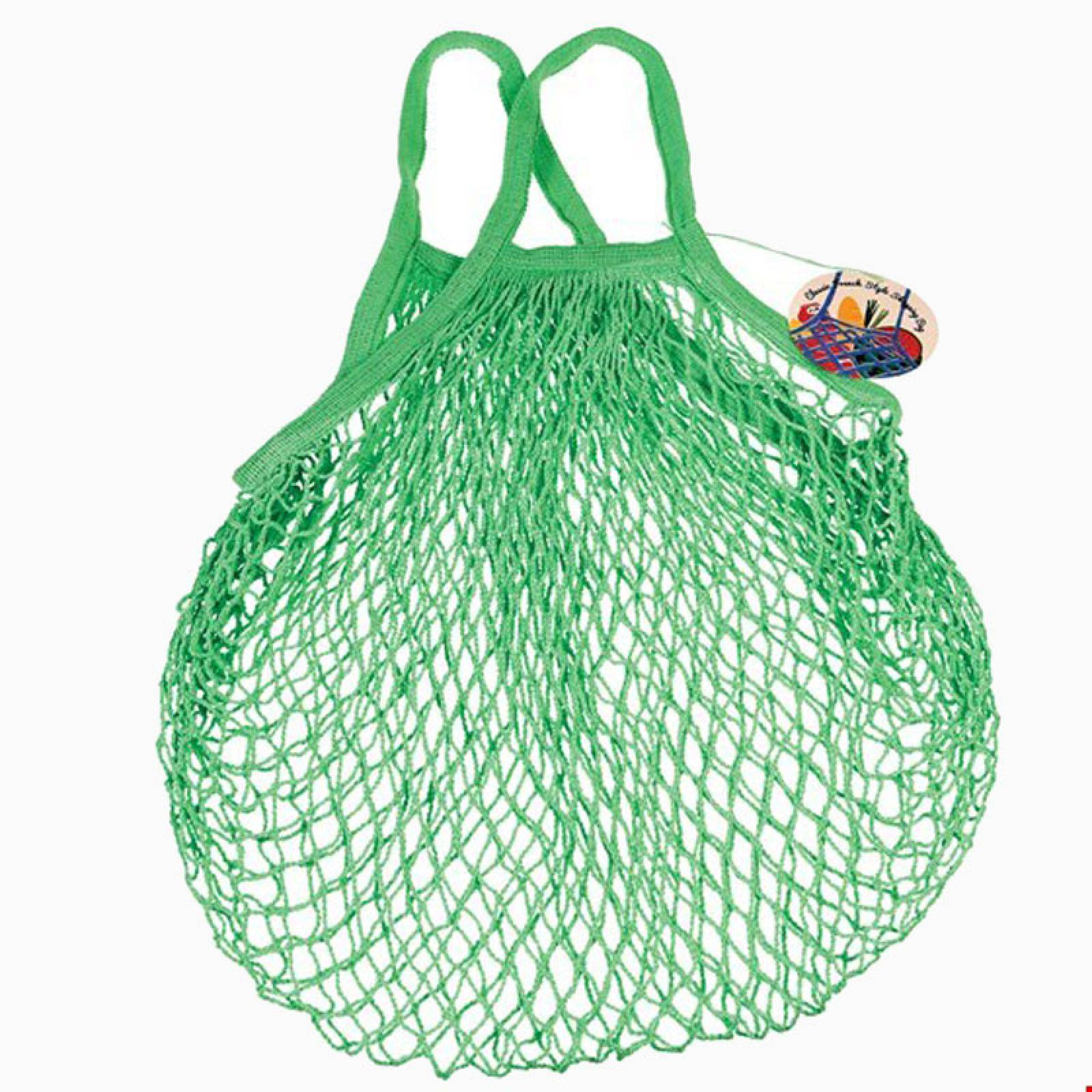 Green String Shopping Bag