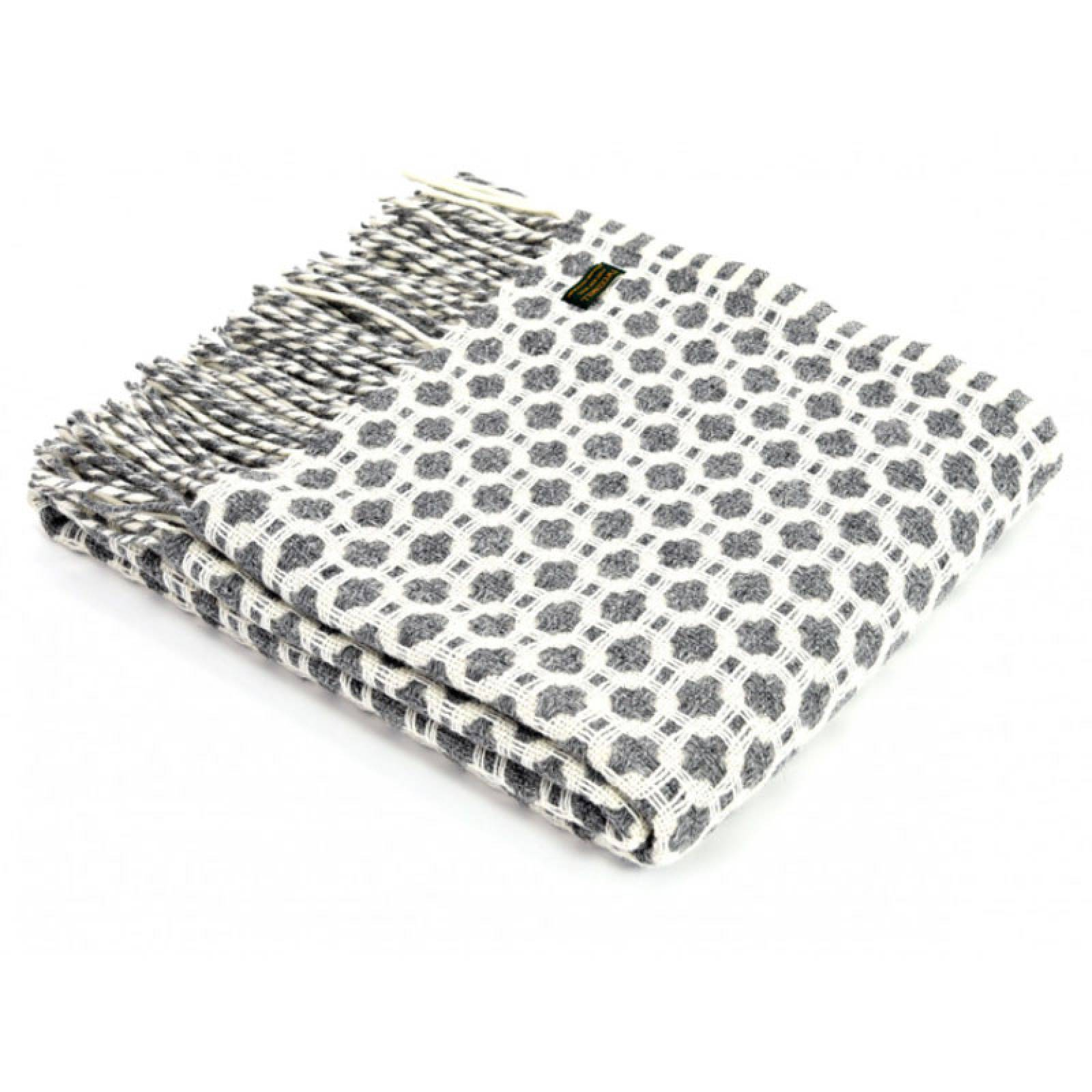 Grey Crossroads Throw Blanket 150x183cm
