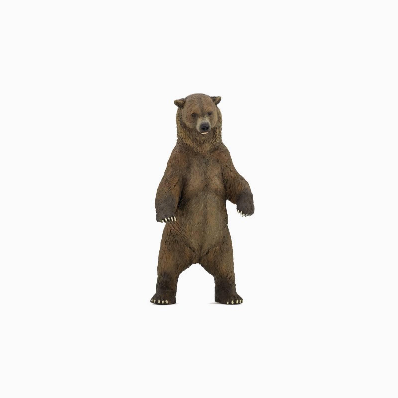 Grizzly Bear - Papo Wild Animal Figure