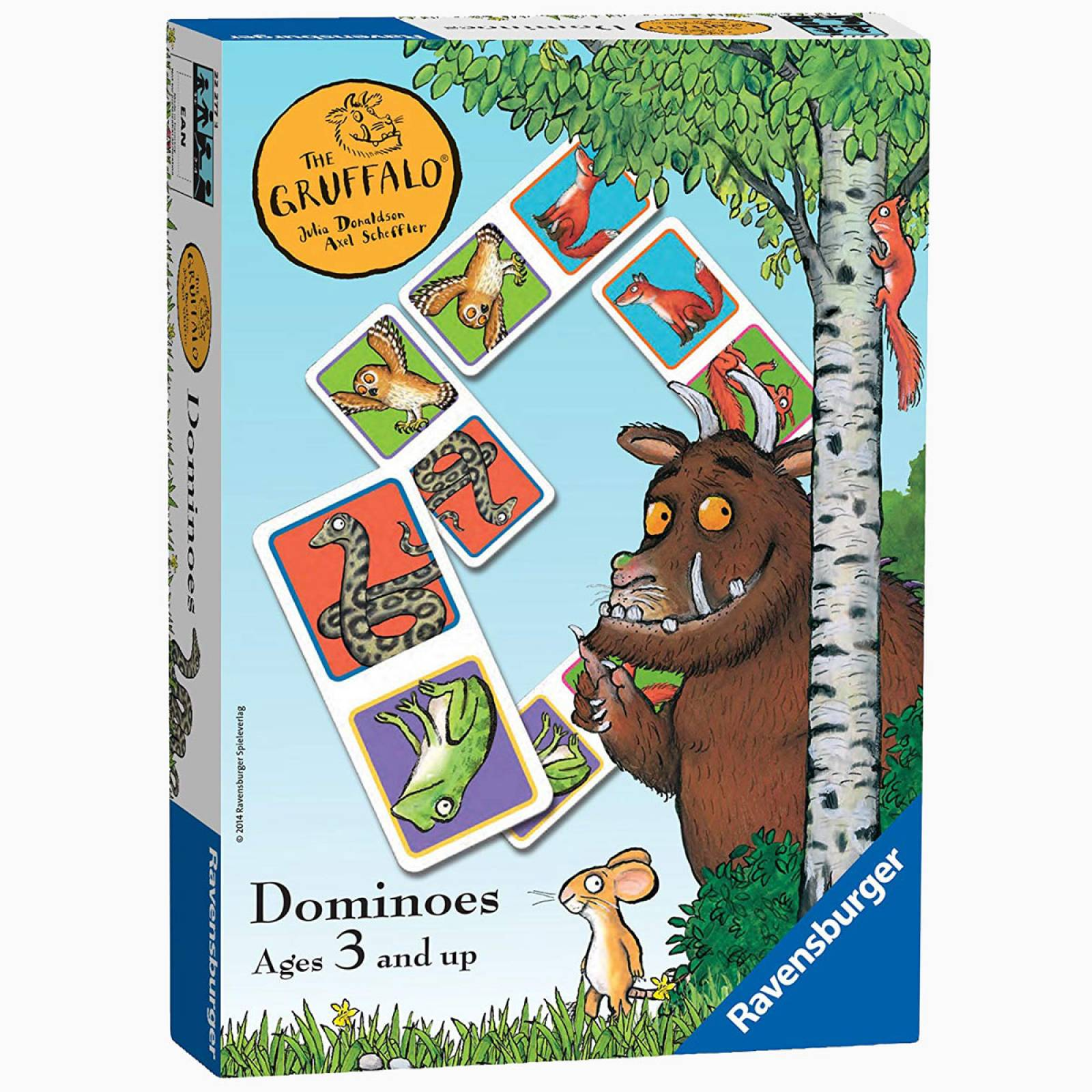 The Gruffalo Dominoes Game 3+