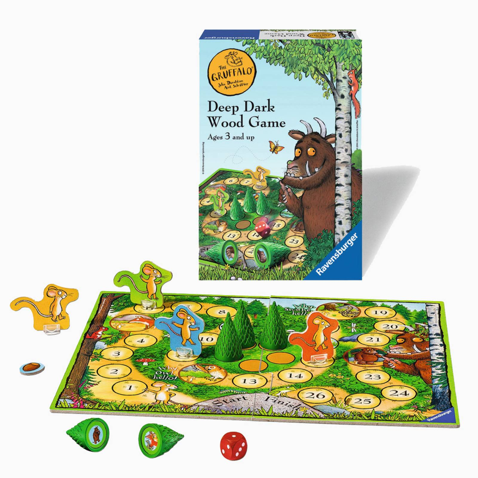 The Gruffalo Deep Dark Wood Game 3+