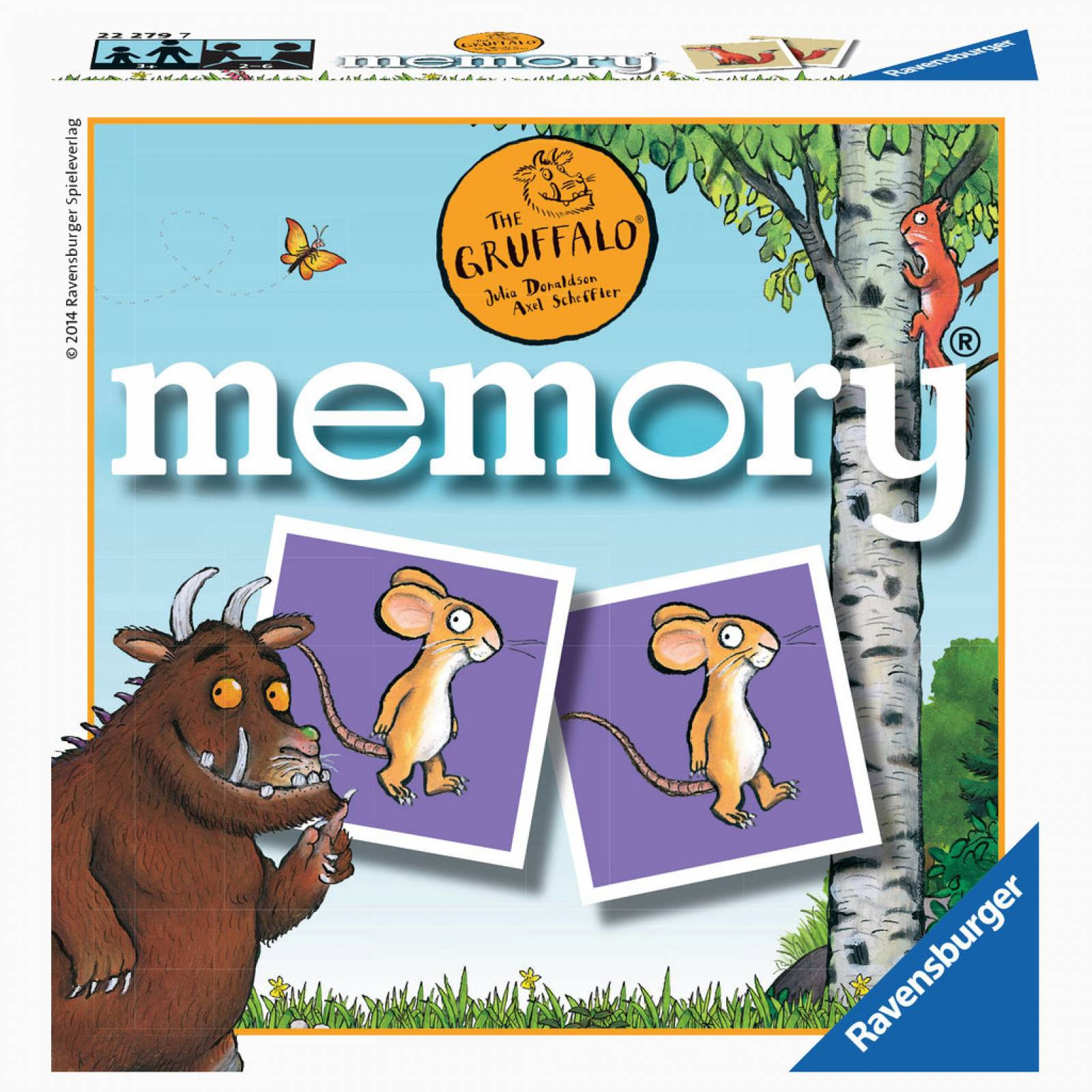The Gruffalo Mini Memory Matching Game ® 3+