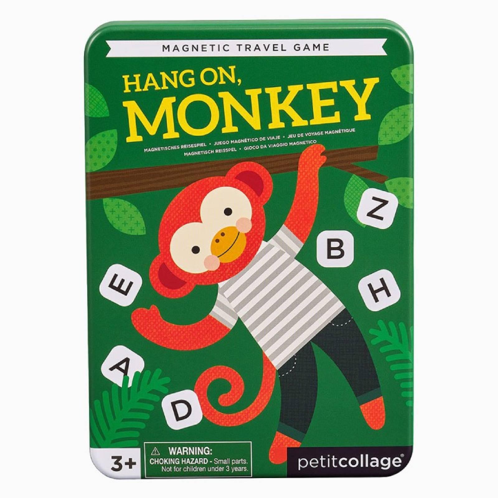 Hang On Monkey - Magnetic Travel Game 3+