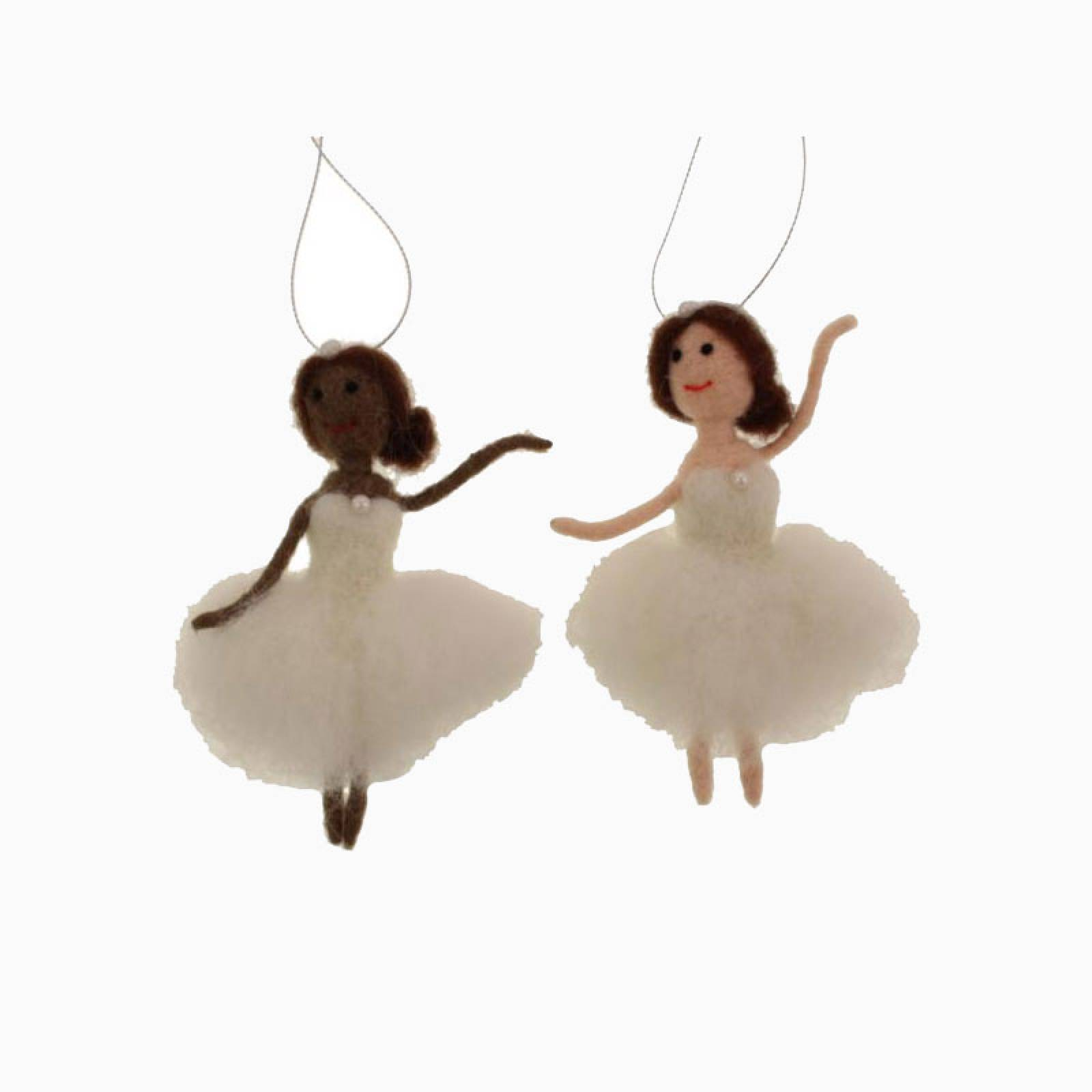 Hanging Angel Felt Christmas Decoration