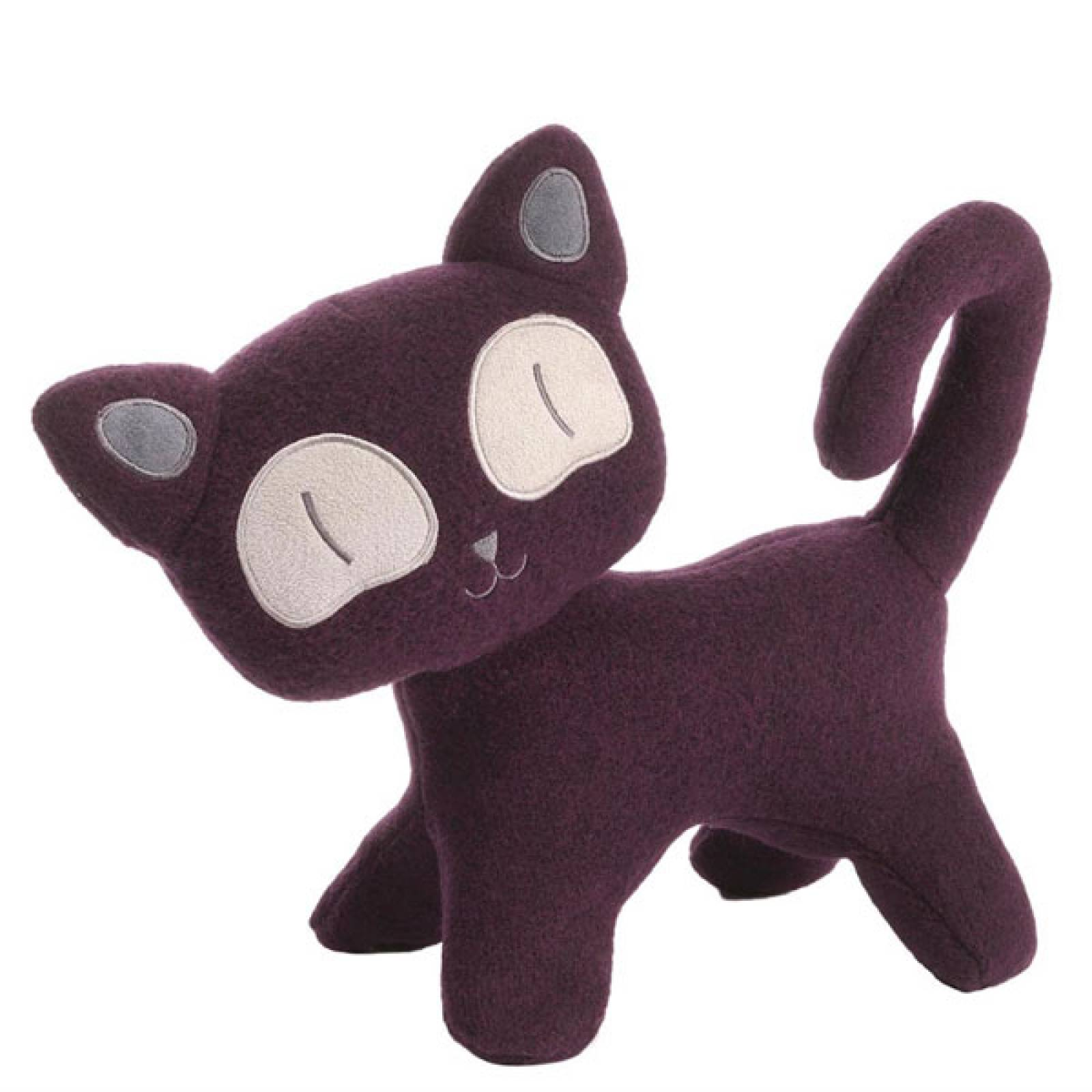 Hasumi Cat Purple Soft Toy 1yr+ thumbnails