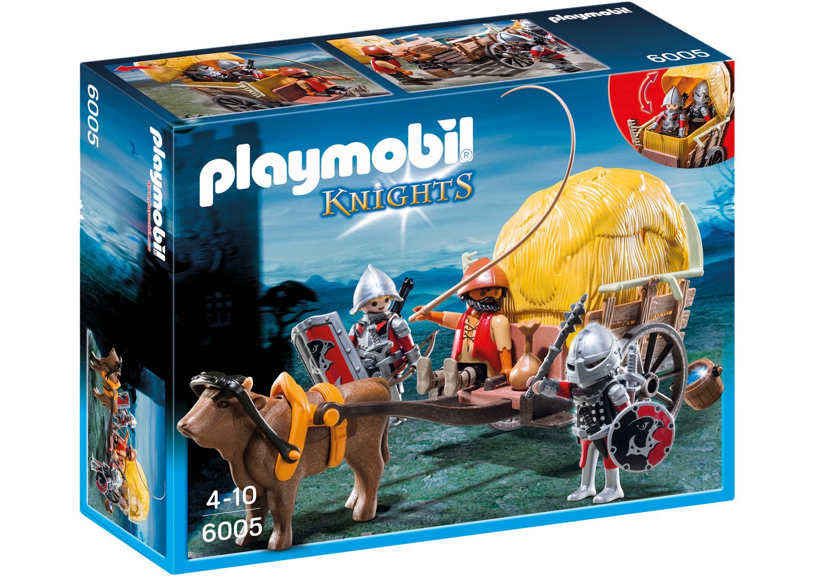 Hawk Knights With Camouflage Weapon Playmobil 6005 thumbnails