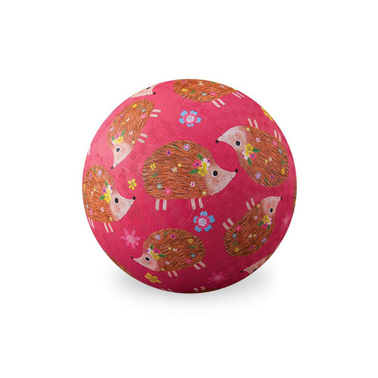 Hedgehog - Large Rubber Picture Ball 18cm