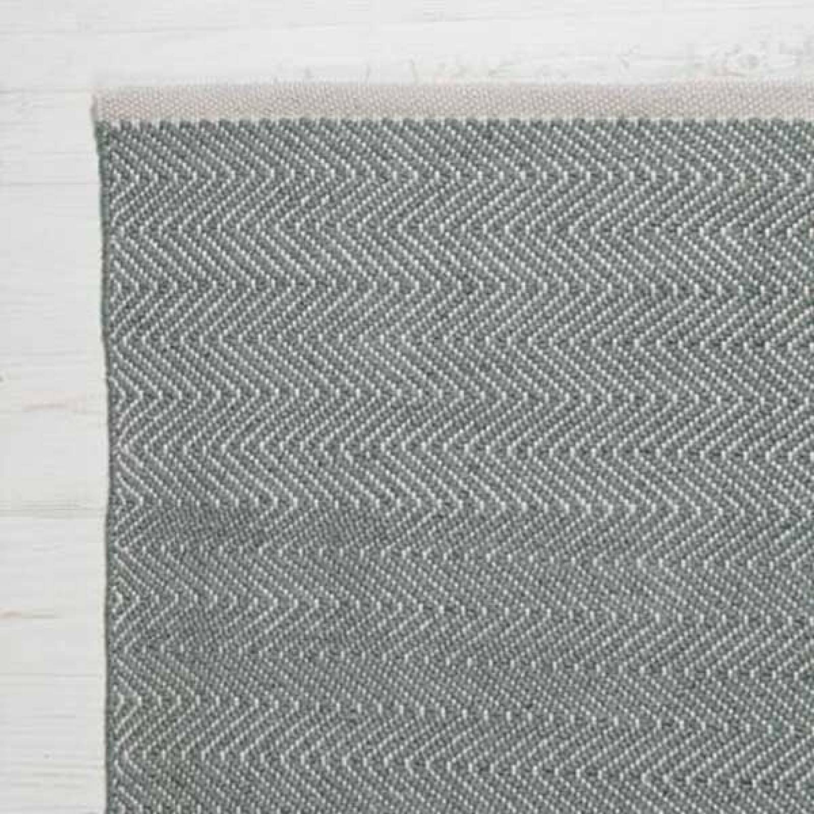 Herringbone GREY 180x120cm Recycled Bottle Rug thumbnails