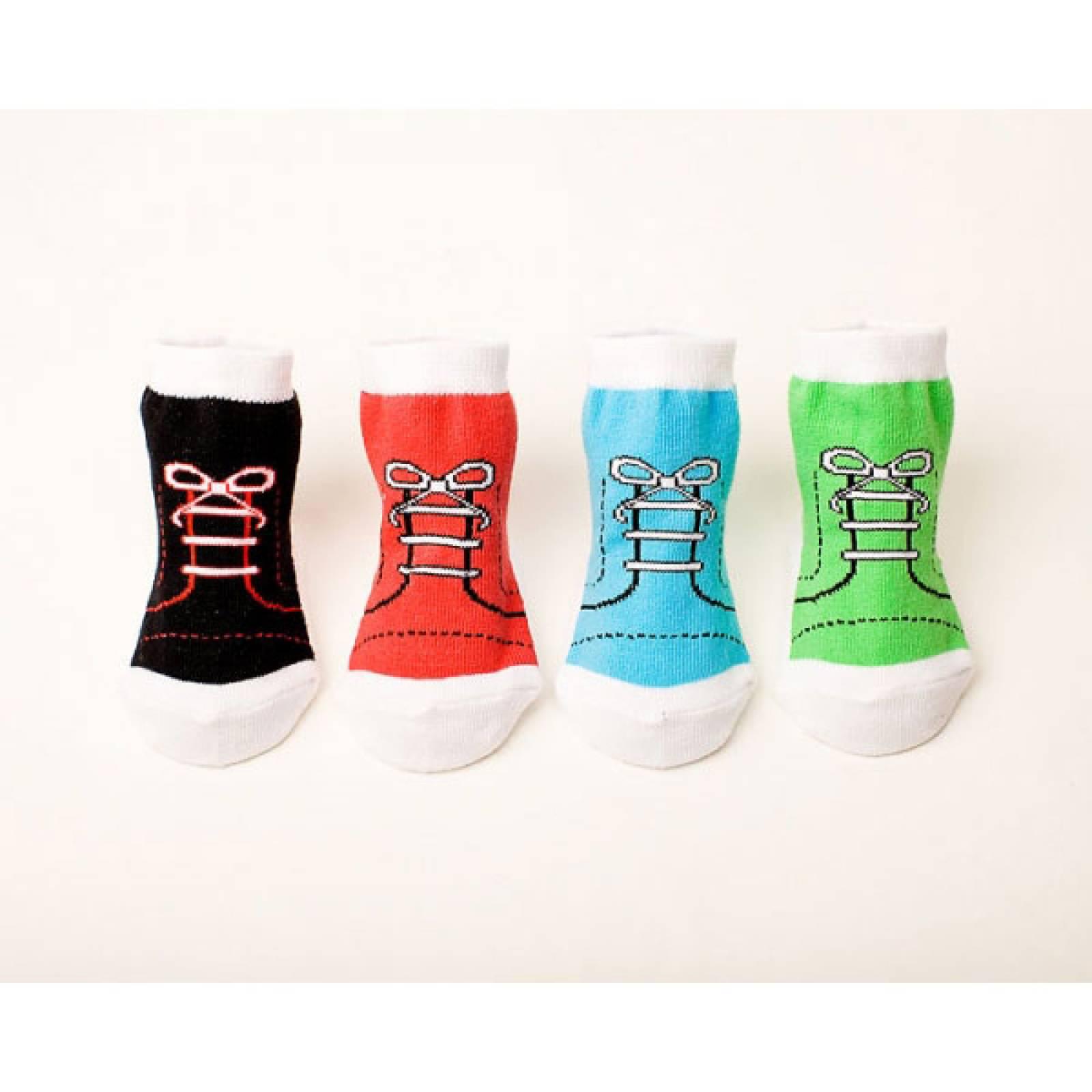 Ultra Cool High Top Baby Socks Set Of 4