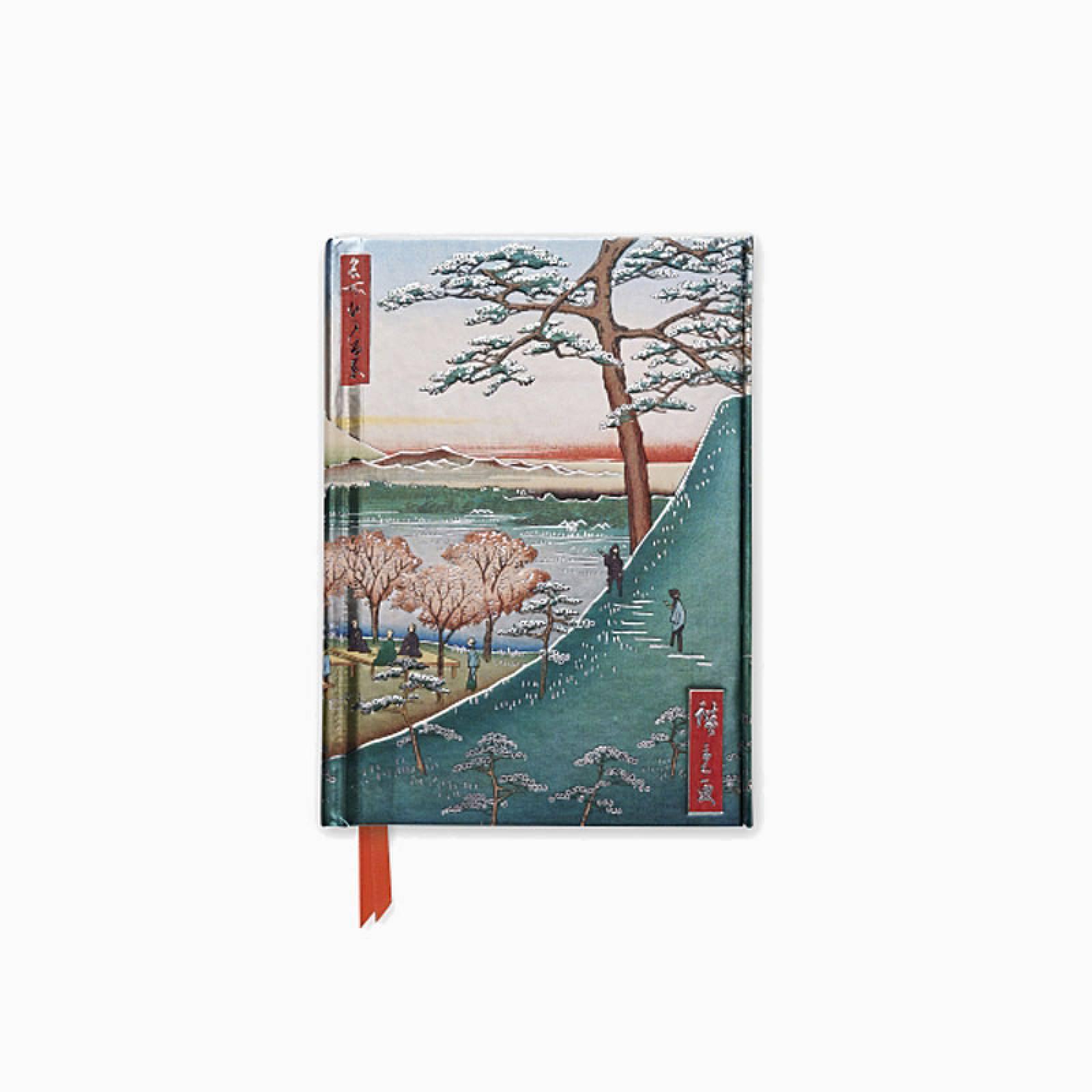 Hiroshige Meguro - Foiled Pocket Journal