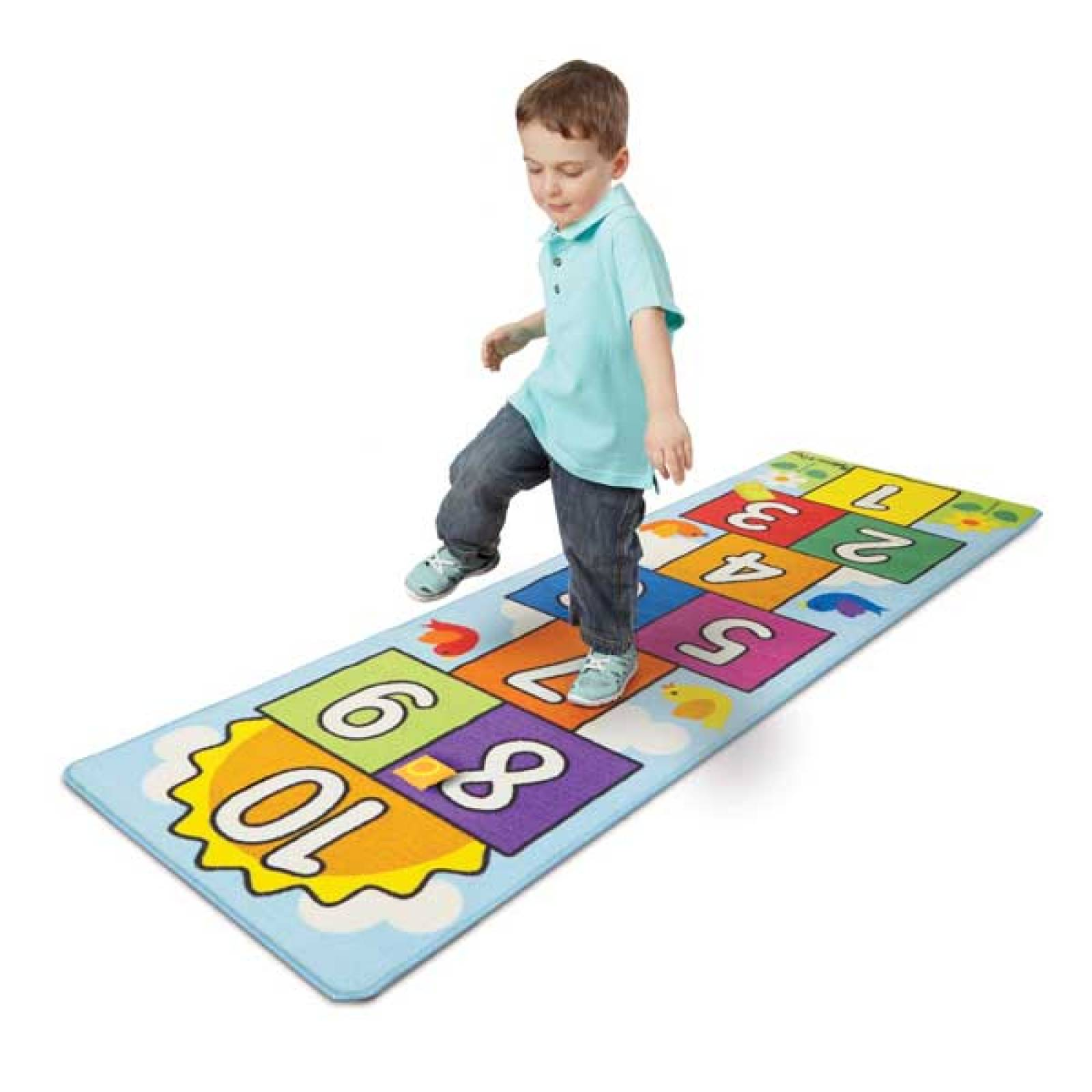 Hop And Count Hopscotch Rug Melissa & Doug 3+