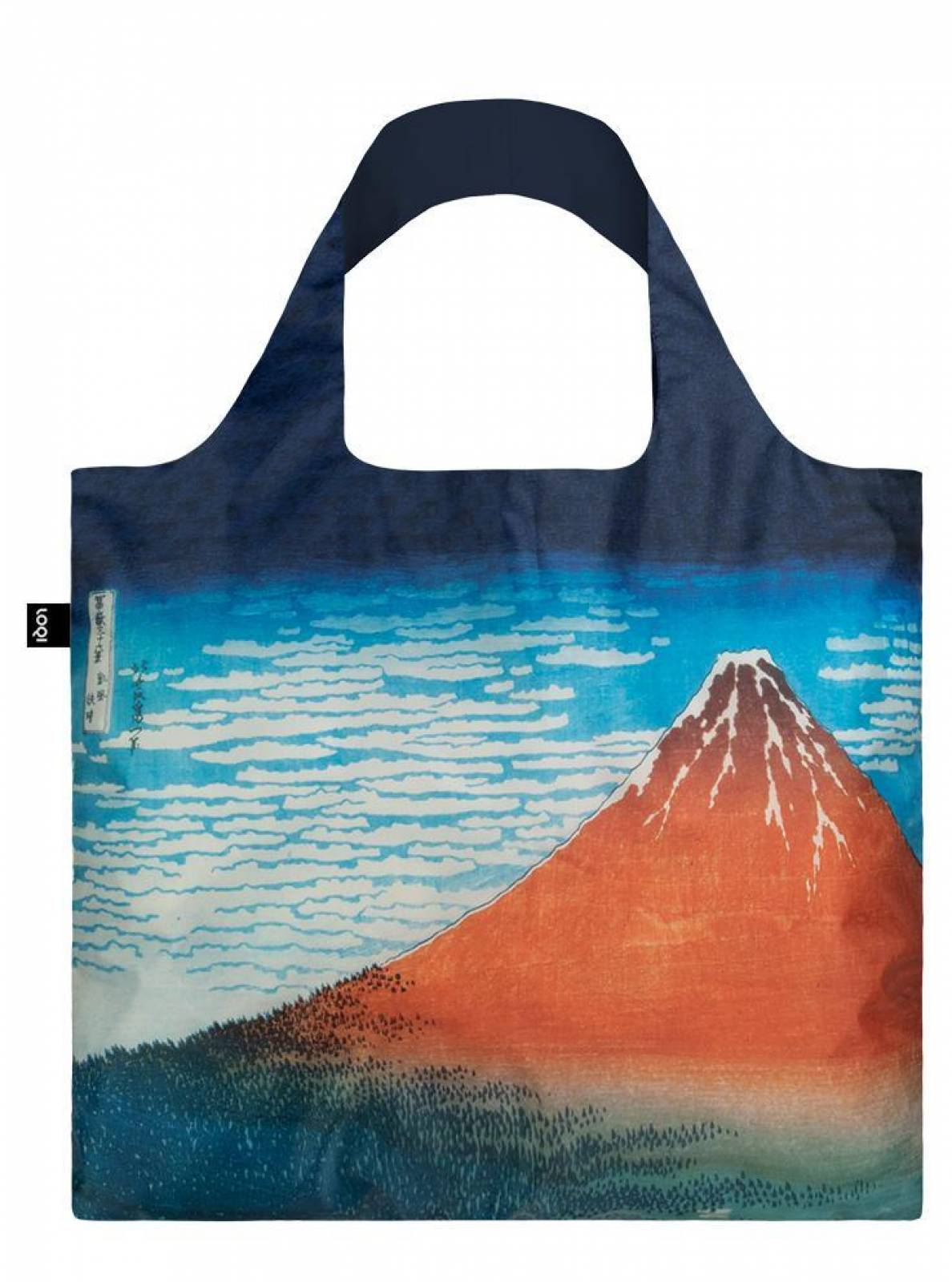 Red Fuji - Reusable Tote Bag With Pouch