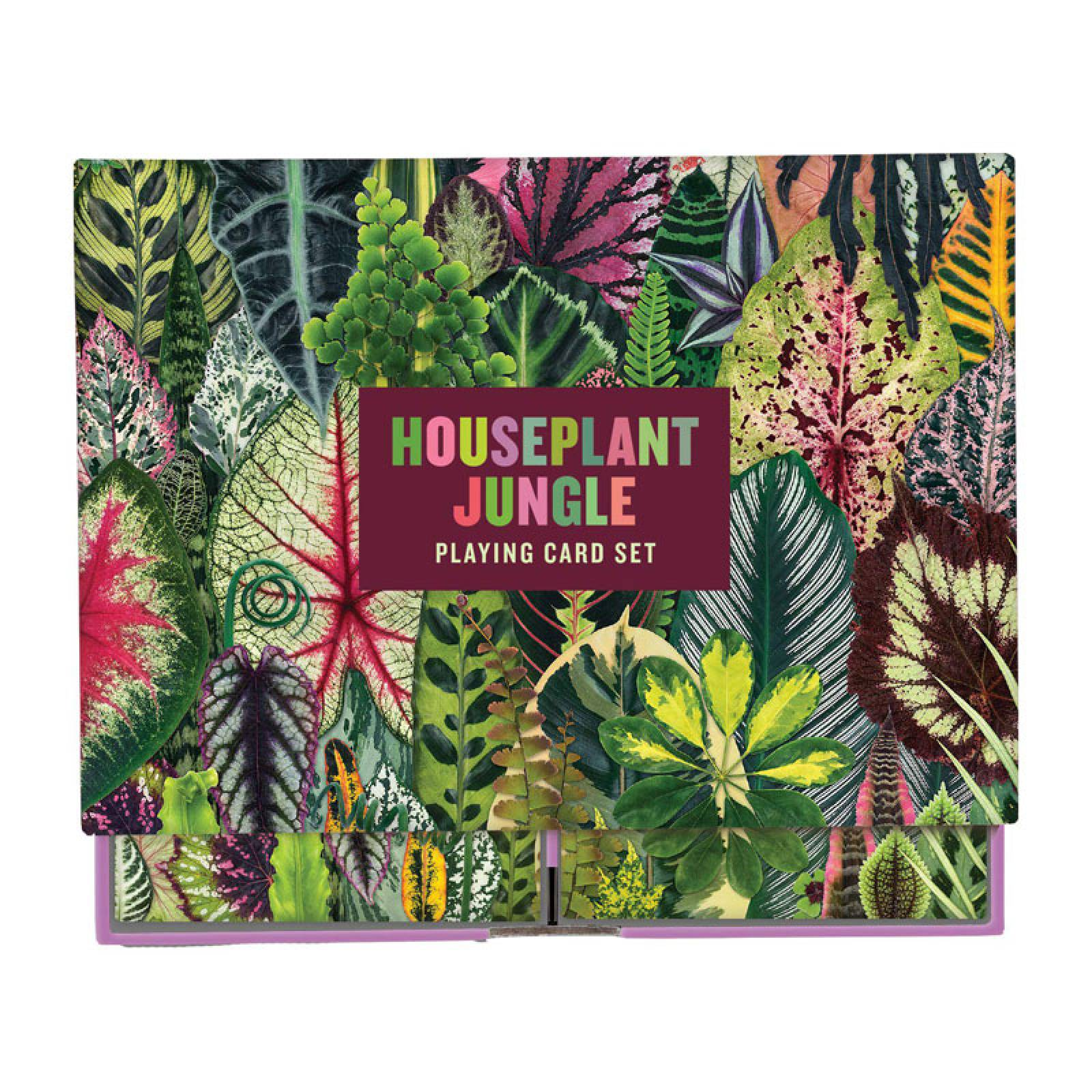 Houseplant Jungle Playing Card Set