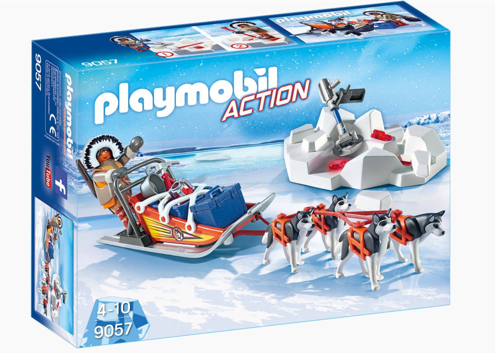 Husky-Drawn Sled Playmobil 9057 thumbnails
