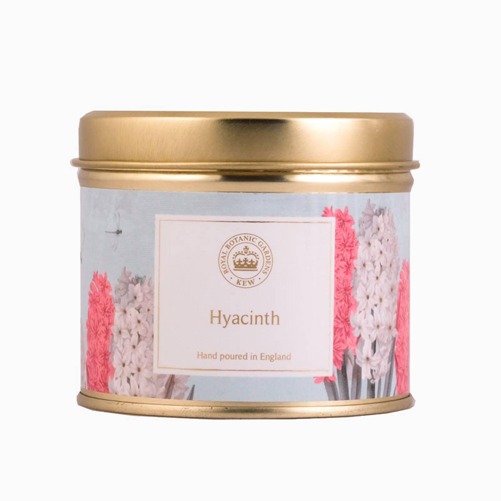 Hyacinth Kew Aromatics Candle In Tin 160g