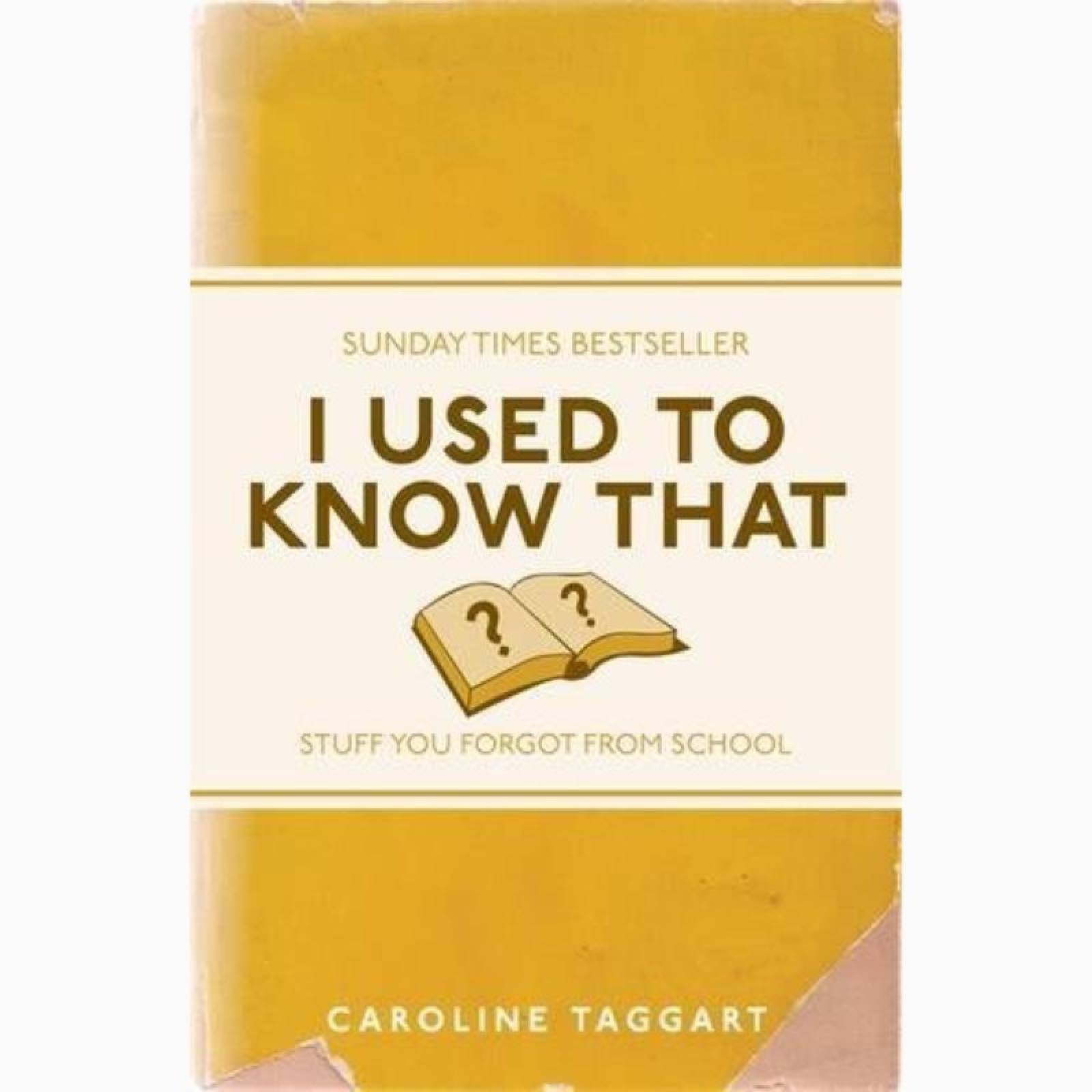 I Used To Know That - Paperback Book