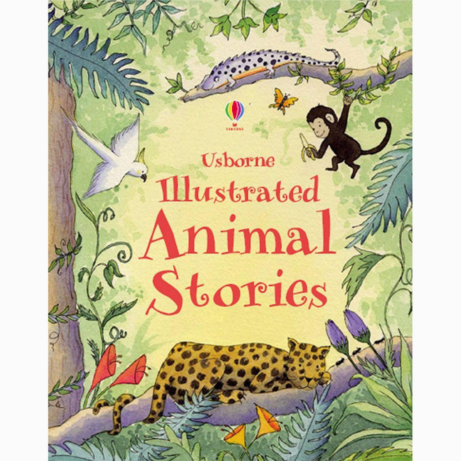 Illustrated Animal Stories - Hardback Book