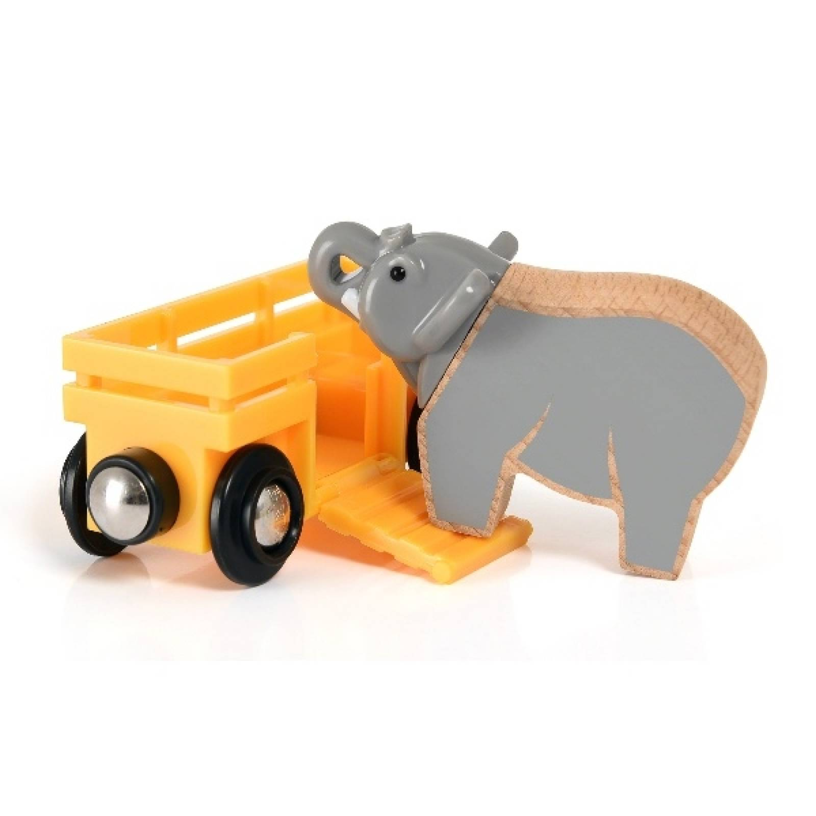 Elephant & Wagon BRIO Wooden Railway Age 3+ thumbnails