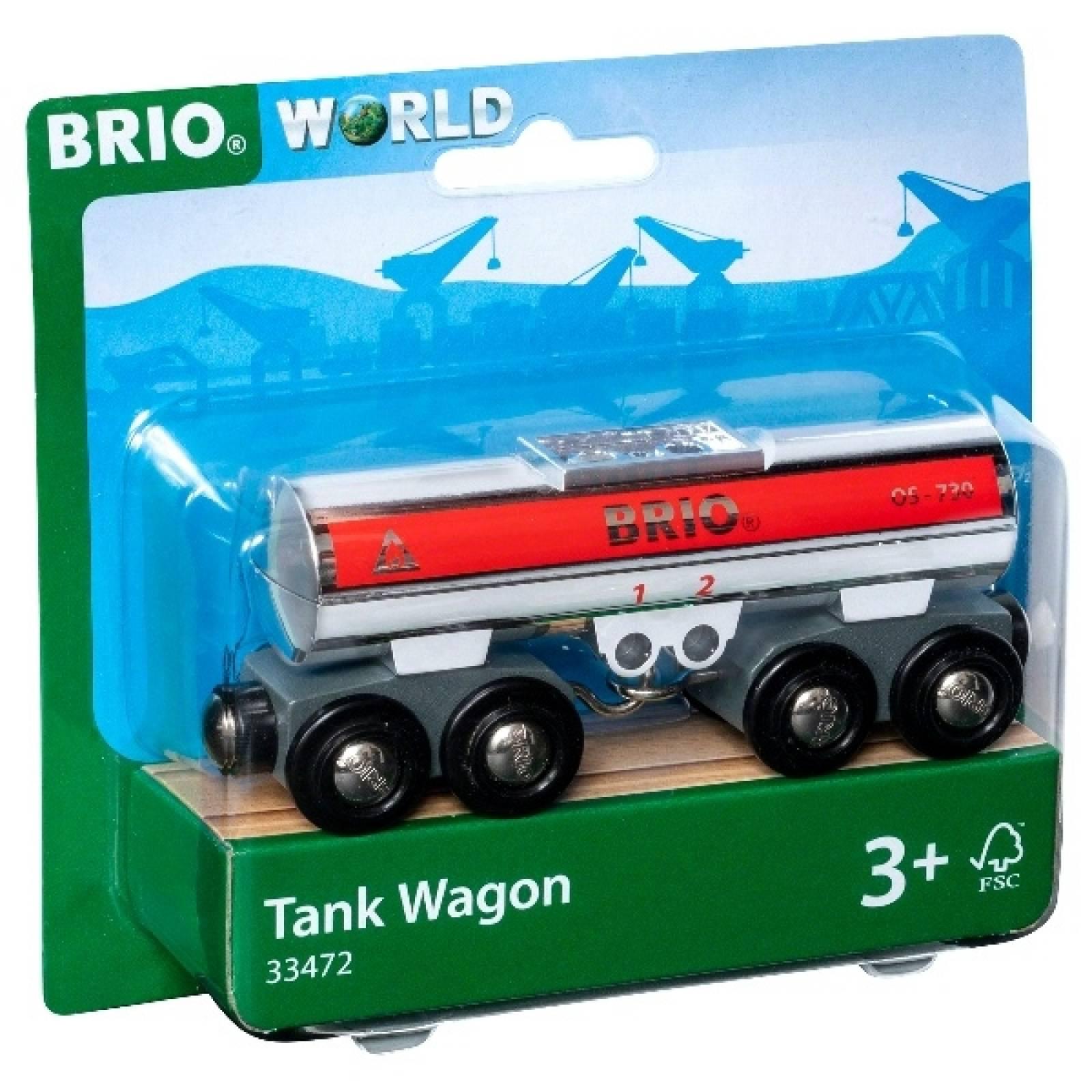 Tank Wagon Carriage BRIO Wooden Railway