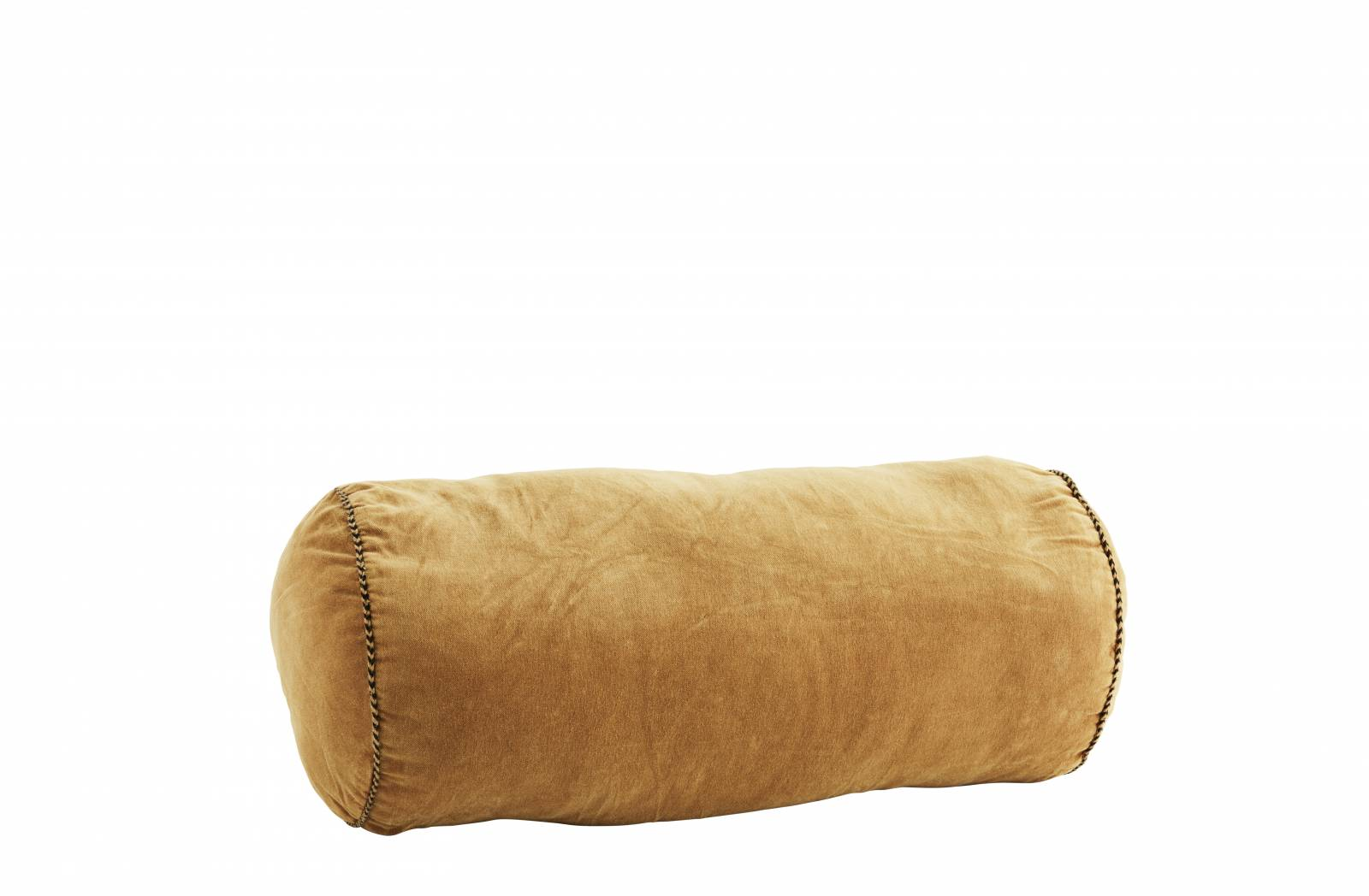 Honey Velvet  Bolster Cushion