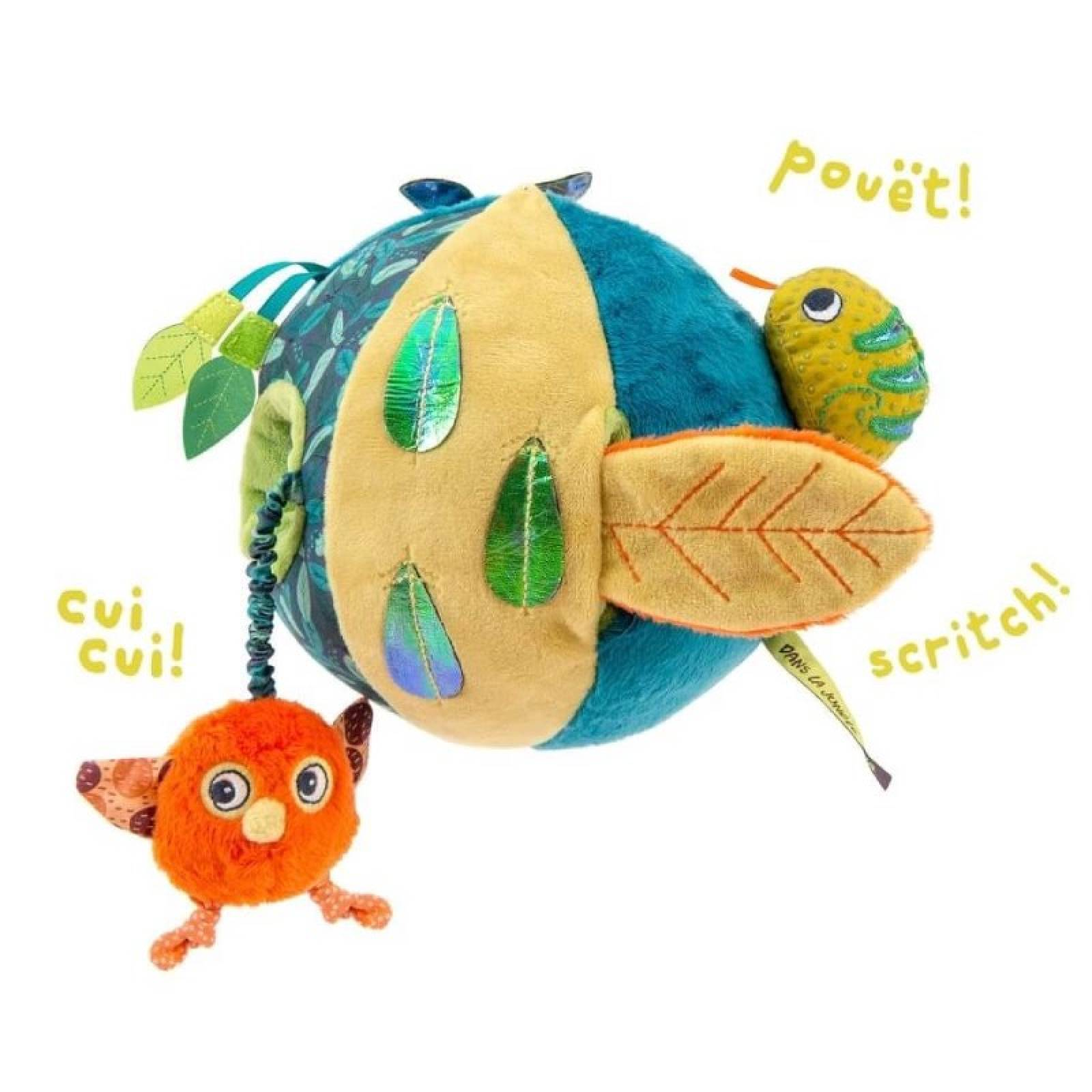 In The Jungle Soft Activity Ball 0+