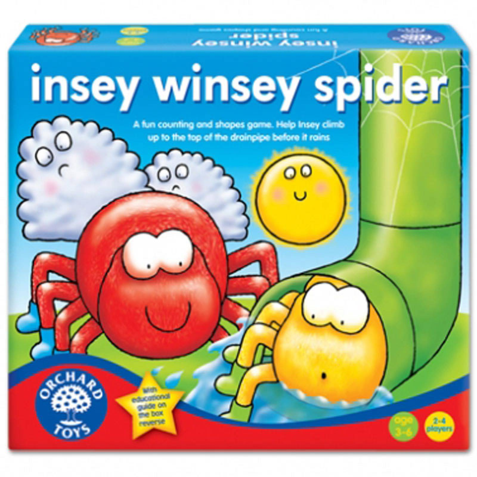 Insey Winsey Spider Game by Orchard Toys thumbnails