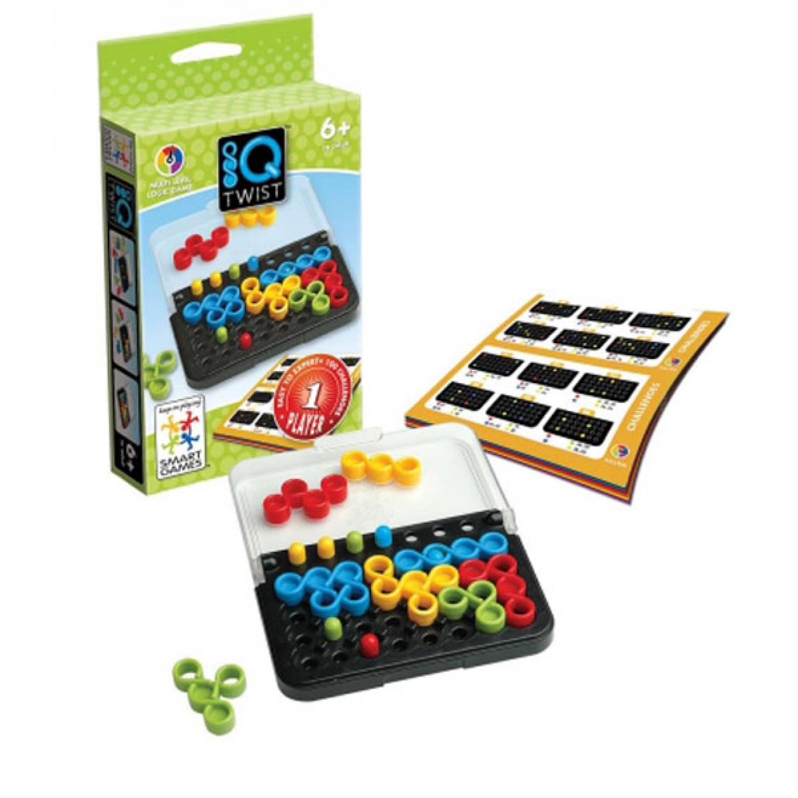 IQ Twist Game By Smart Games 6+