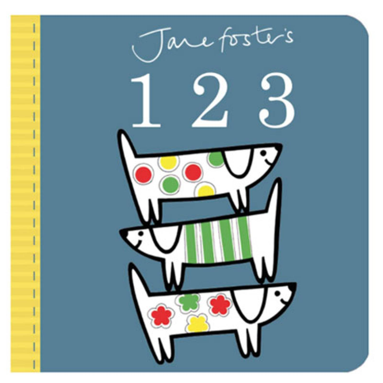 Jane Foster's 123 Board Book