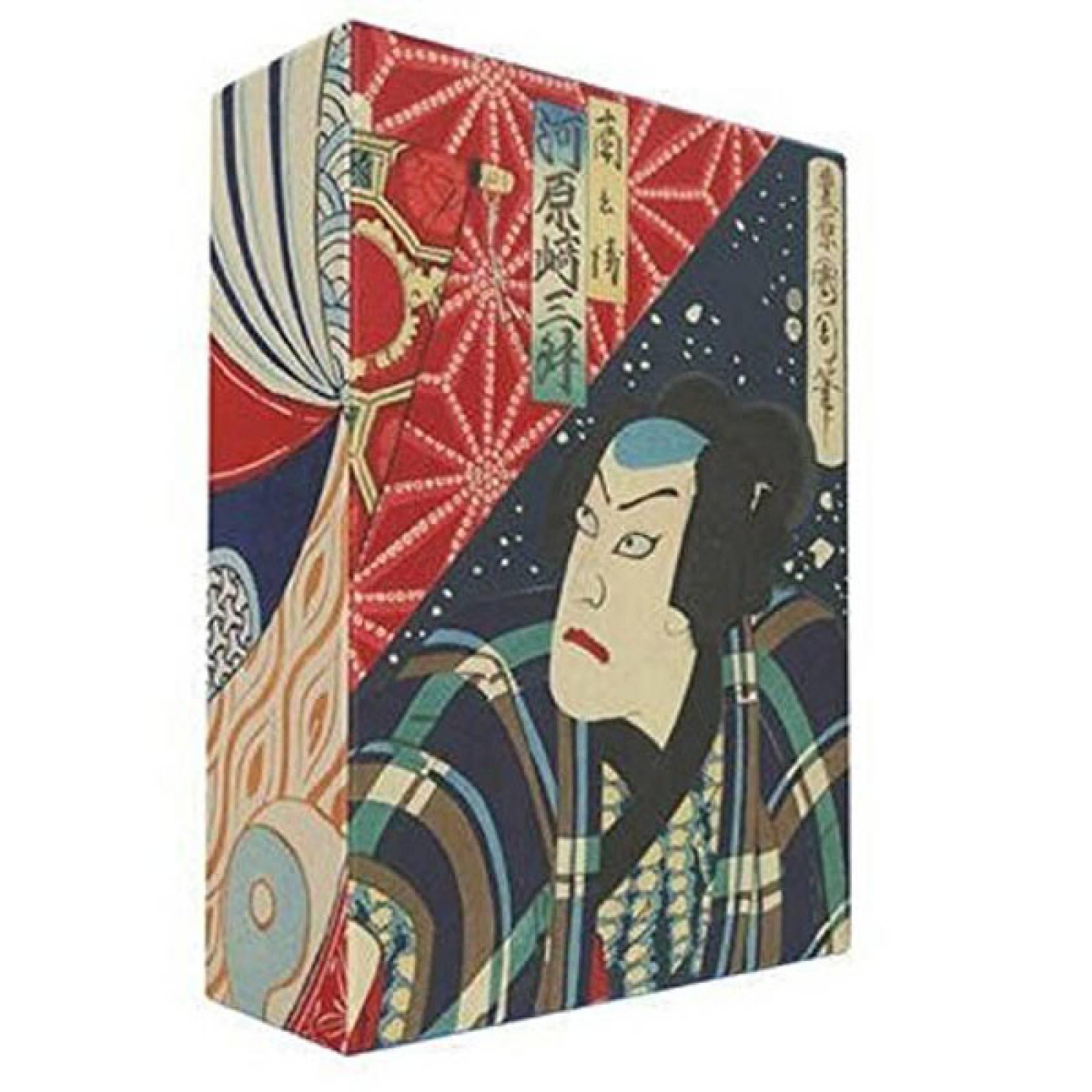 Box Of 100 Japanese Woodblock Print Postcards