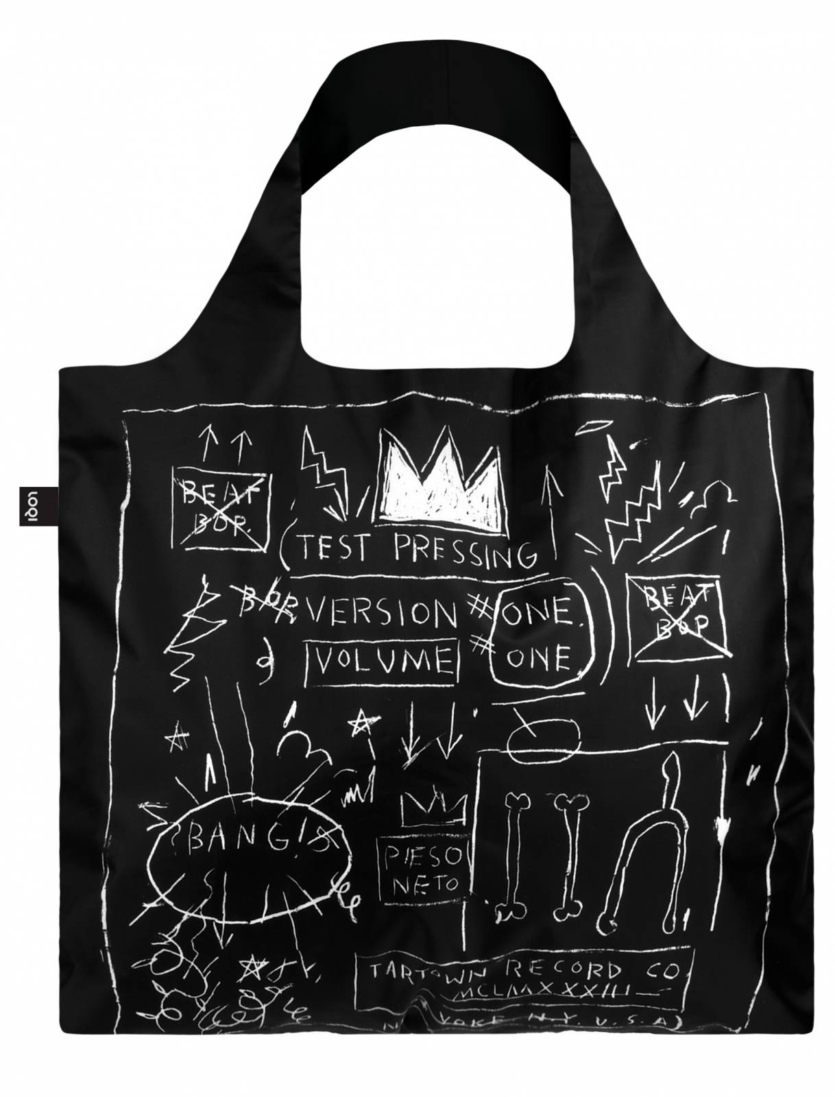 Jean Michel Basquiat Crown Bag - Reusable Tote Bag With Pouch