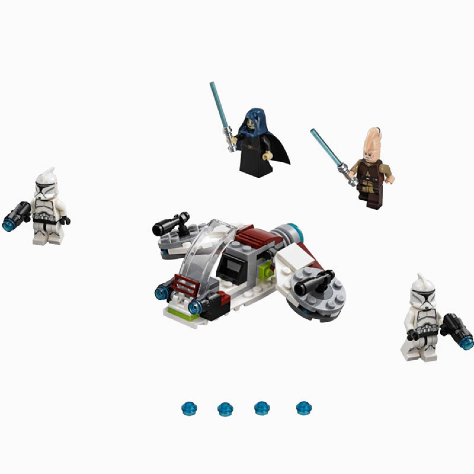LEGO® Star Wars Jedi™ and Clone Troopers™ Battle Pack 75206 thumbnails