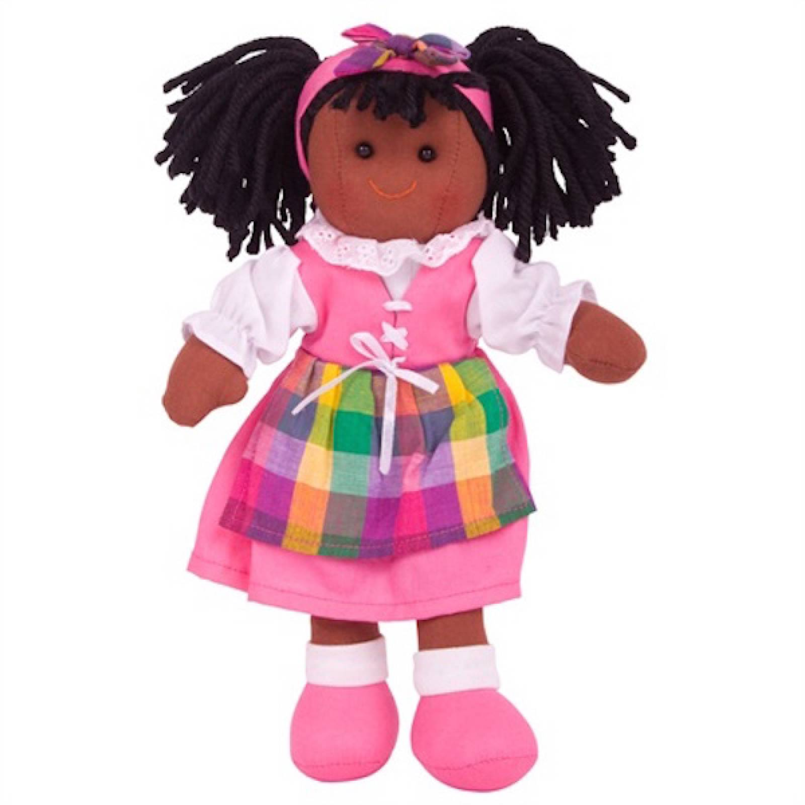 Jess Rag Doll Girl Traditional 25cm
