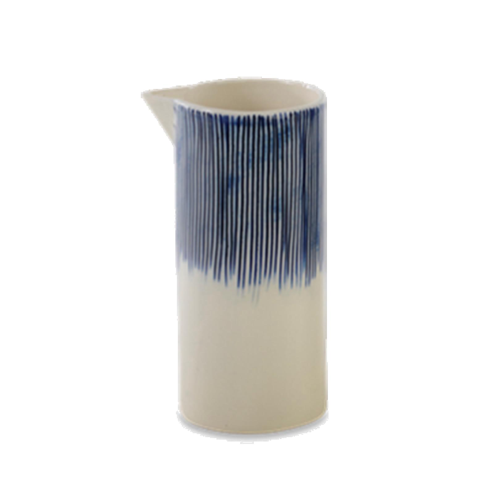 Small Karuma Ceramic Jug Blue & White thumbnails