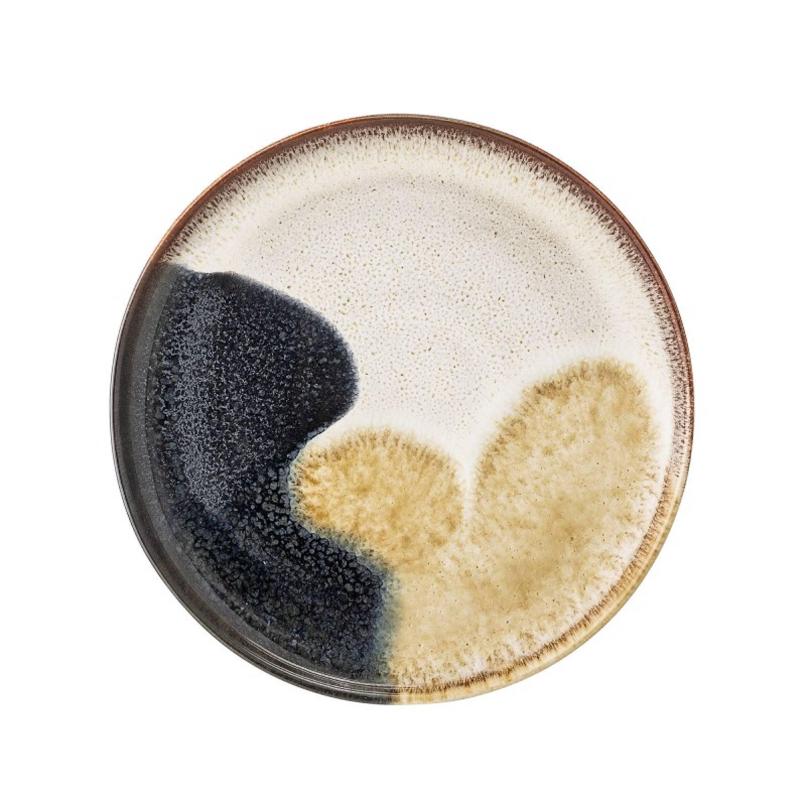 Jules Multi Colour Stoneware Plate