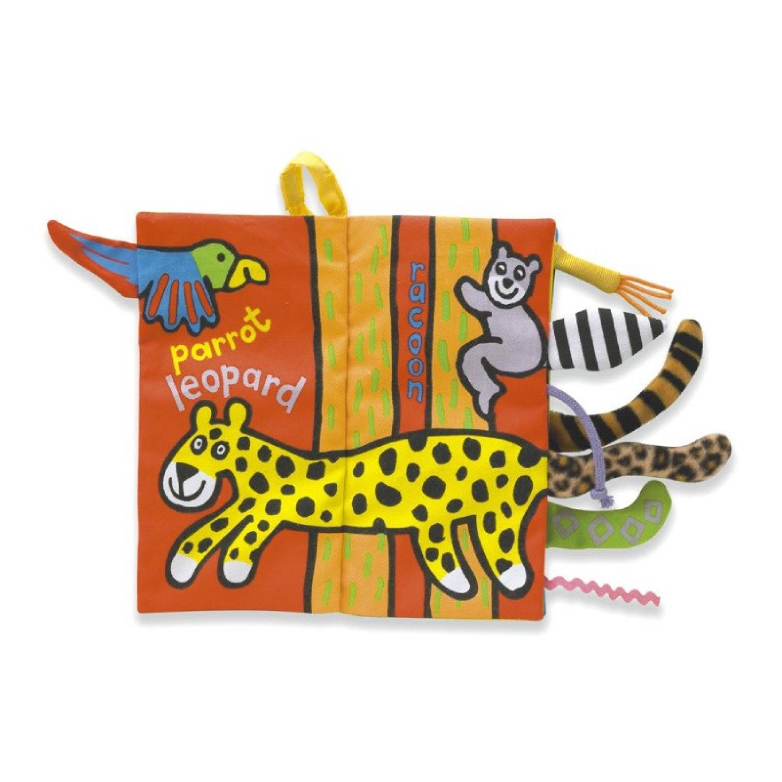 Jungly Tails Soft Fabric Book By Jellycat 0+ thumbnails