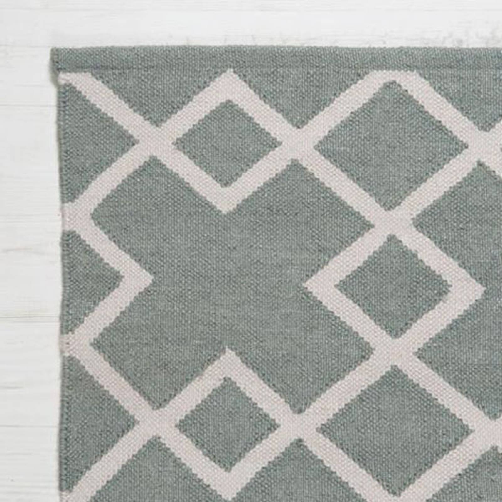 Dove Grey JUNO 180x120cm Recycled Bottle Rug