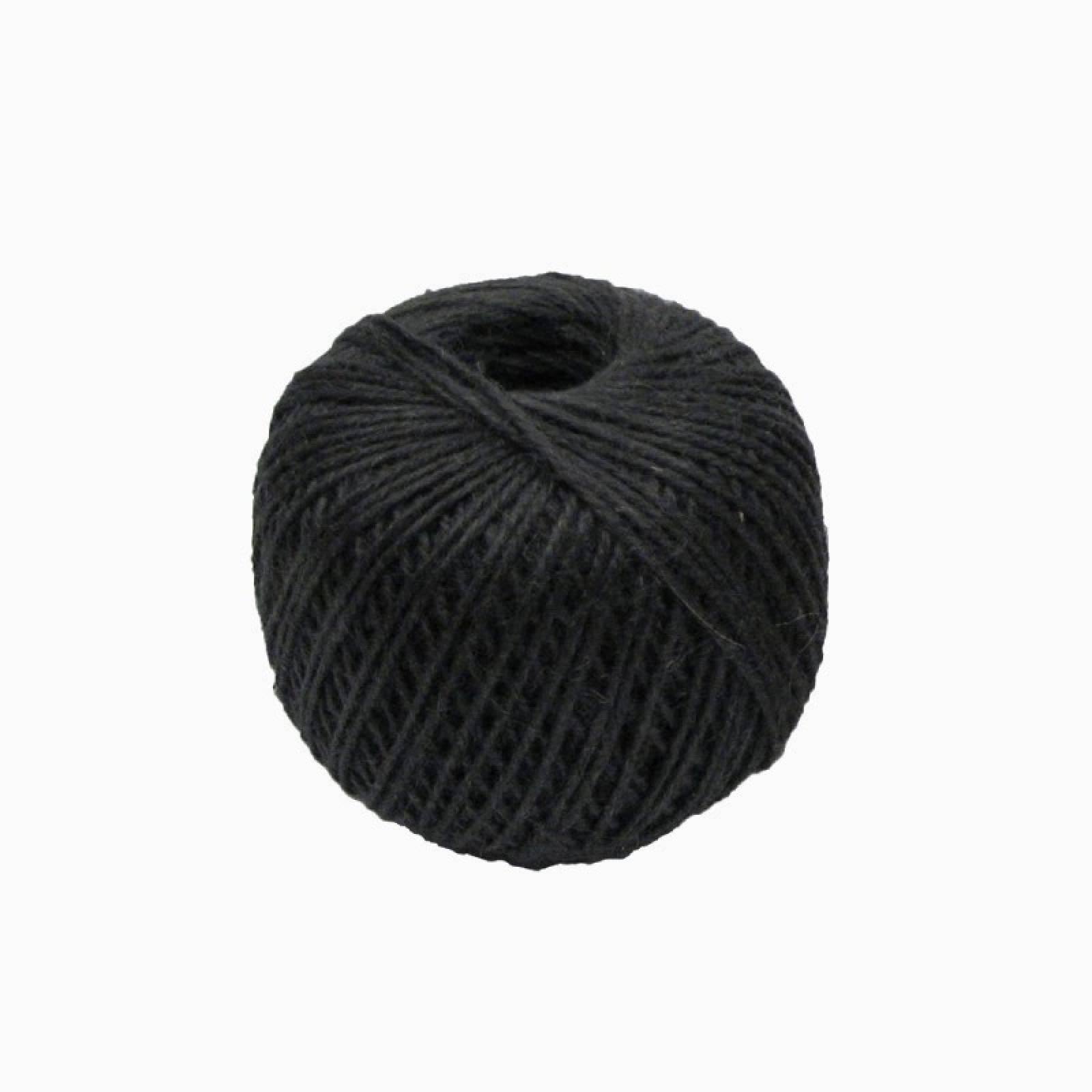 Jute Twine Ball In Black 140m thumbnails