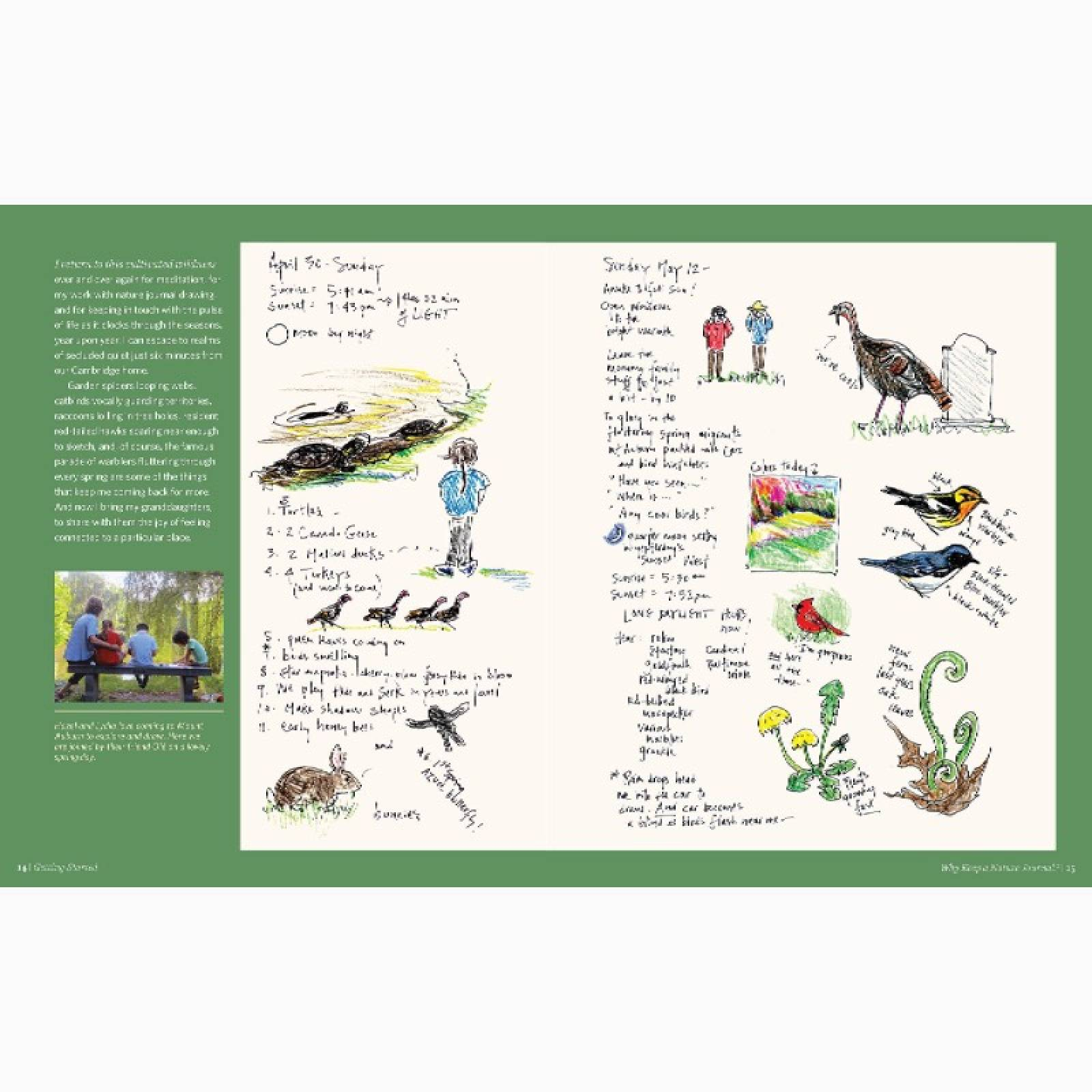Keeping A Nature Journal - Paperback Book thumbnails