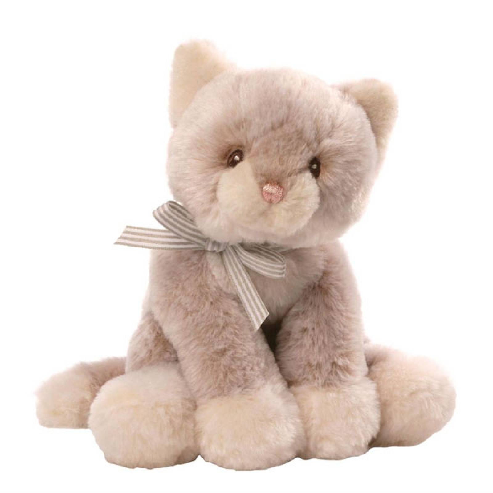 Soft Kitty Cat Toy and Rattle 0+yrs