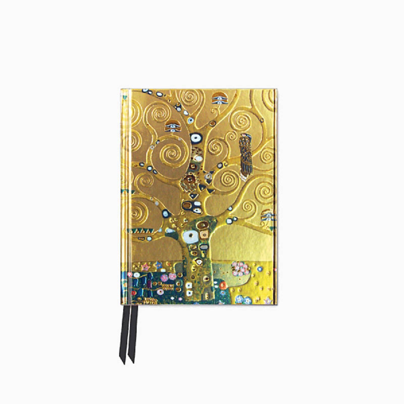 Klimt Tree Of Life - Foiled Pocket Journal