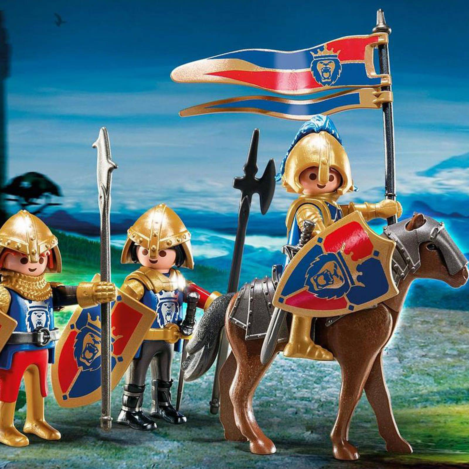 Royal Lion Knights Playmobil 6006 4-10yrs