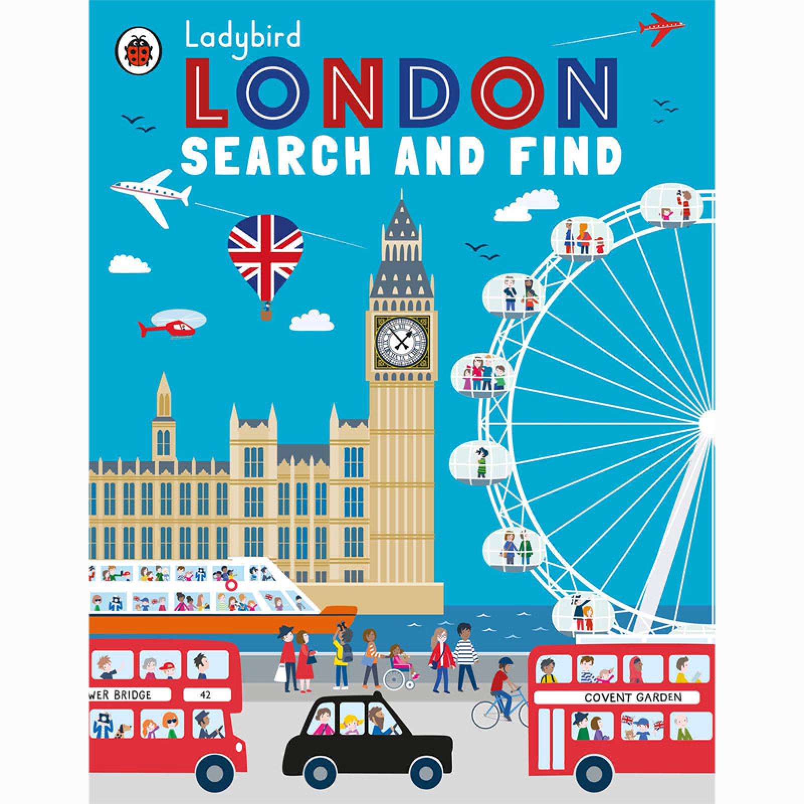 Ladybird London: Search And Find - Paperback Book