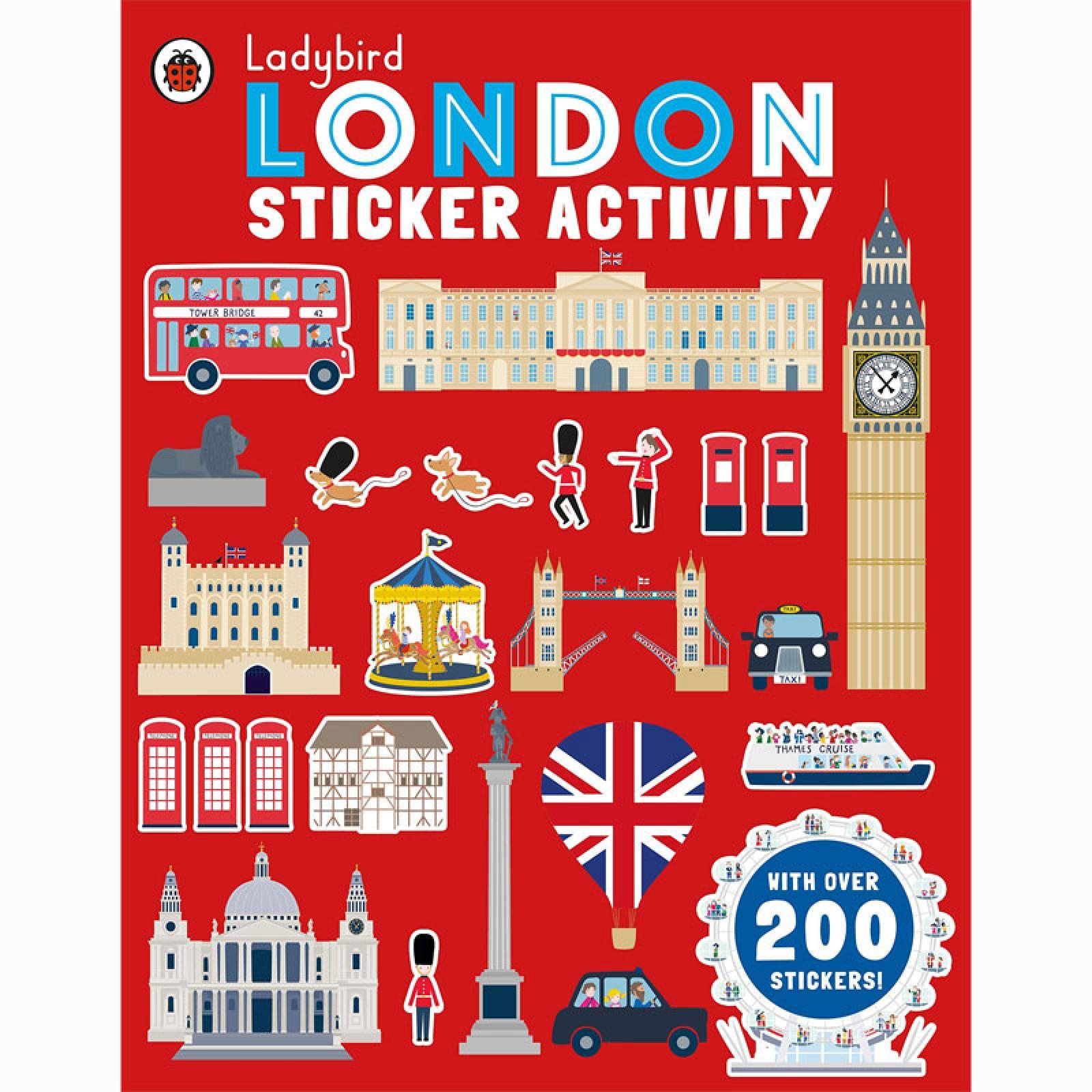 Ladybird London Sticker Activity Book