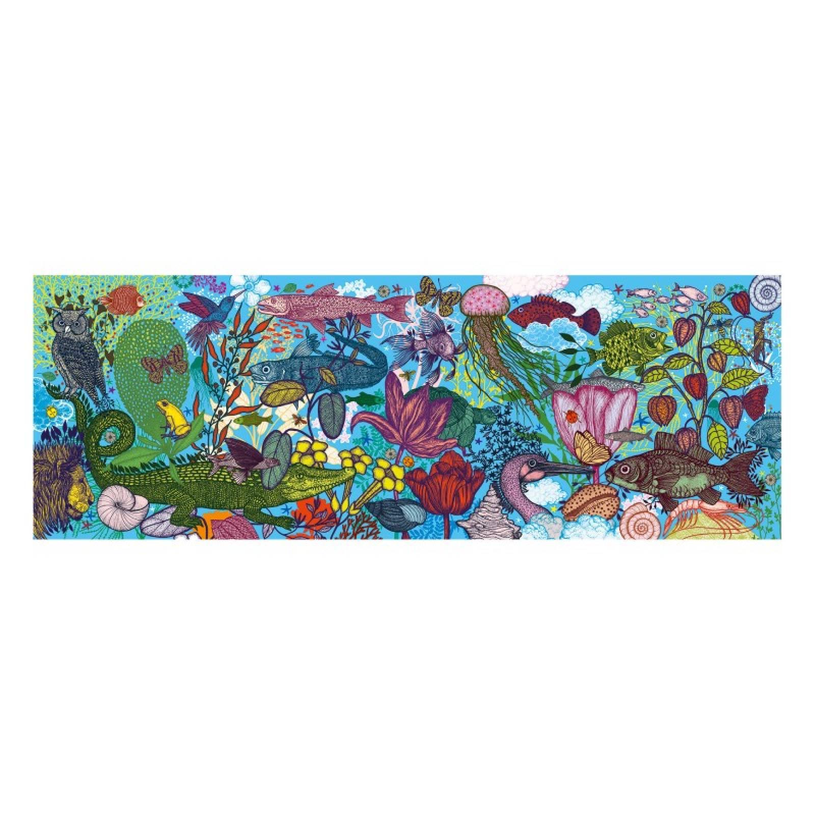 Land & Sea 1000 Piece Puzzle By Djeco 9+