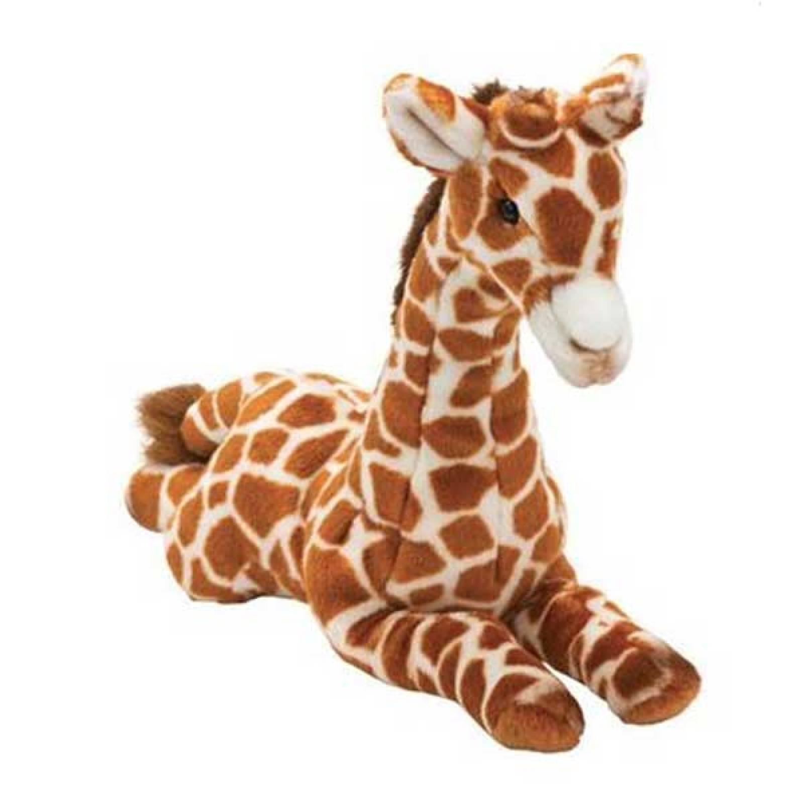 Laying Giraffe Soft Toy 40cm