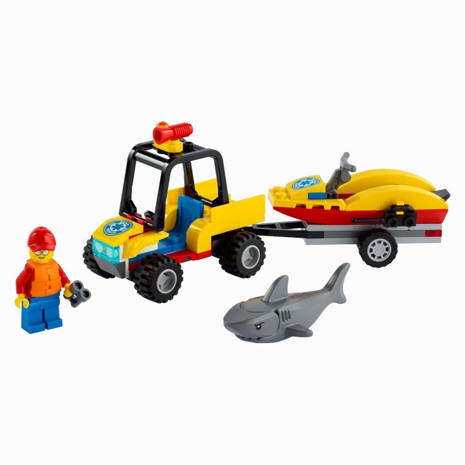 LEGO City Beach Rescue ATV 60286 5+ thumbnails