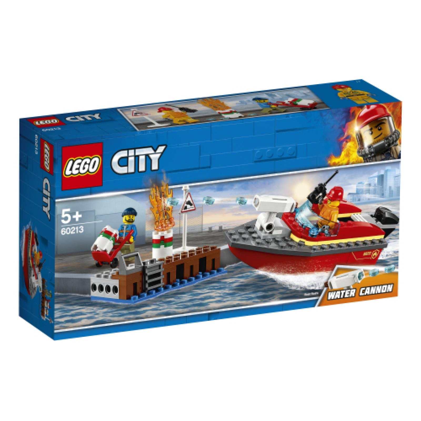 LEGO City Dock Side Fire 60213