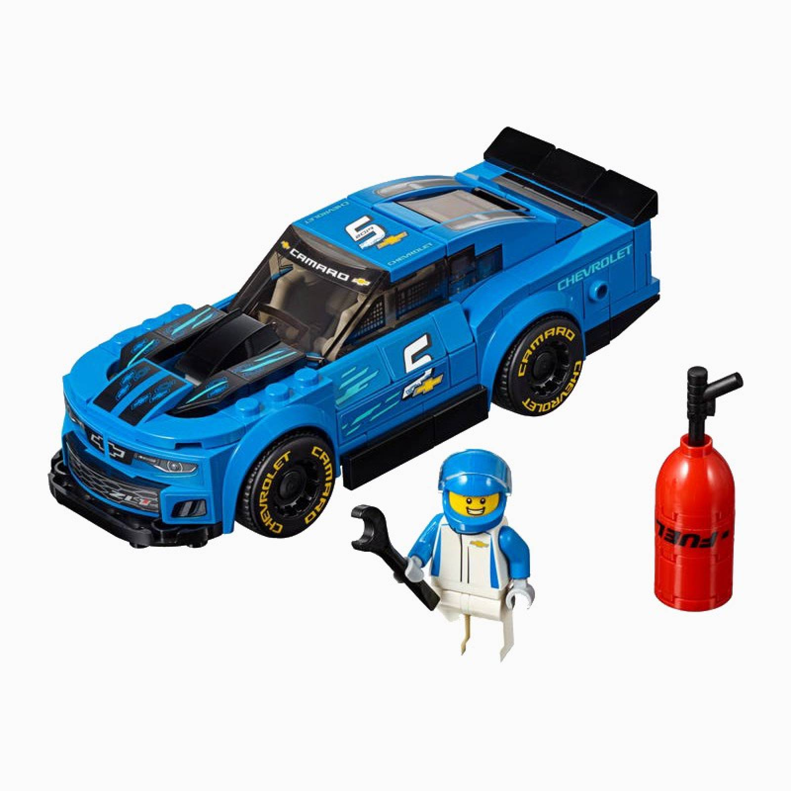 LEGO Speed Champions Chevrolet Camaro ZL1 Race Car 75891 7+ thumbnails