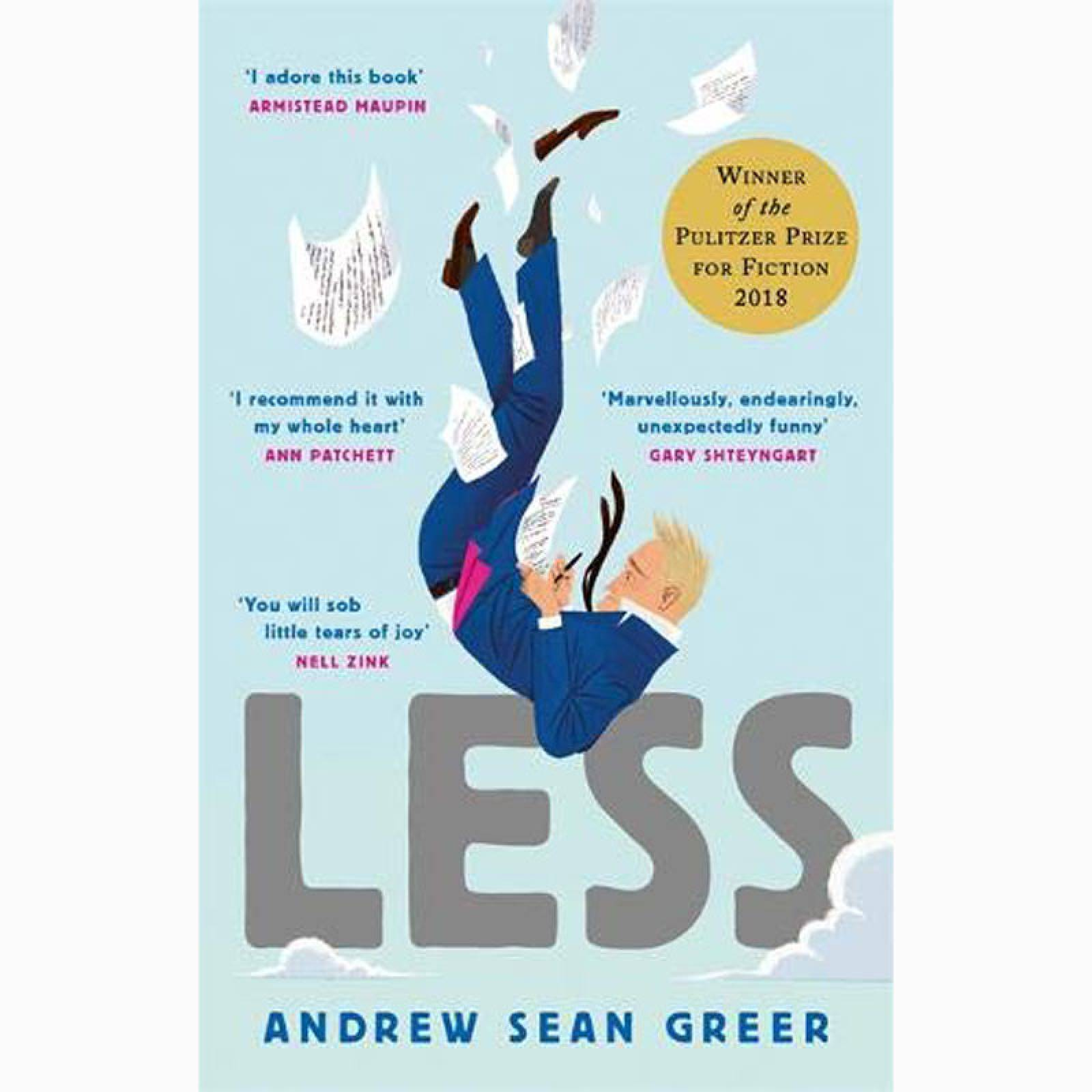 Less - Paperback Book
