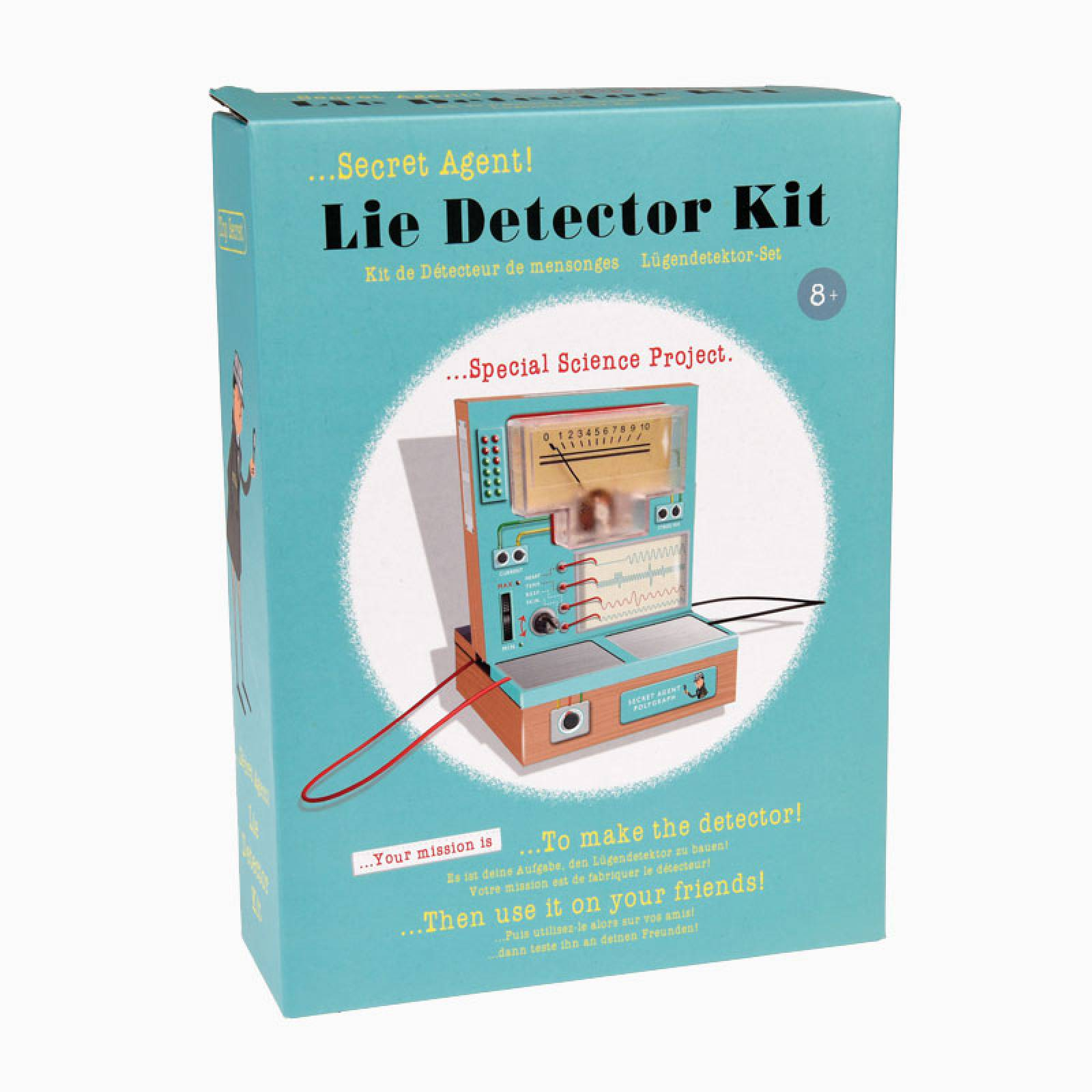 Secret Agent Lie Detector Kit 8+